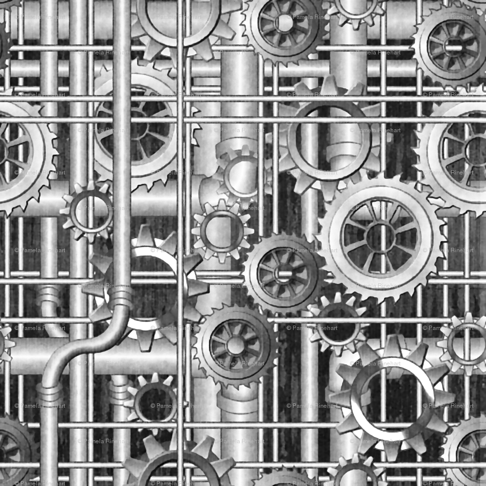 1000x1000 Images of Steampunk Wallpaper Pipes - #SpaceHero