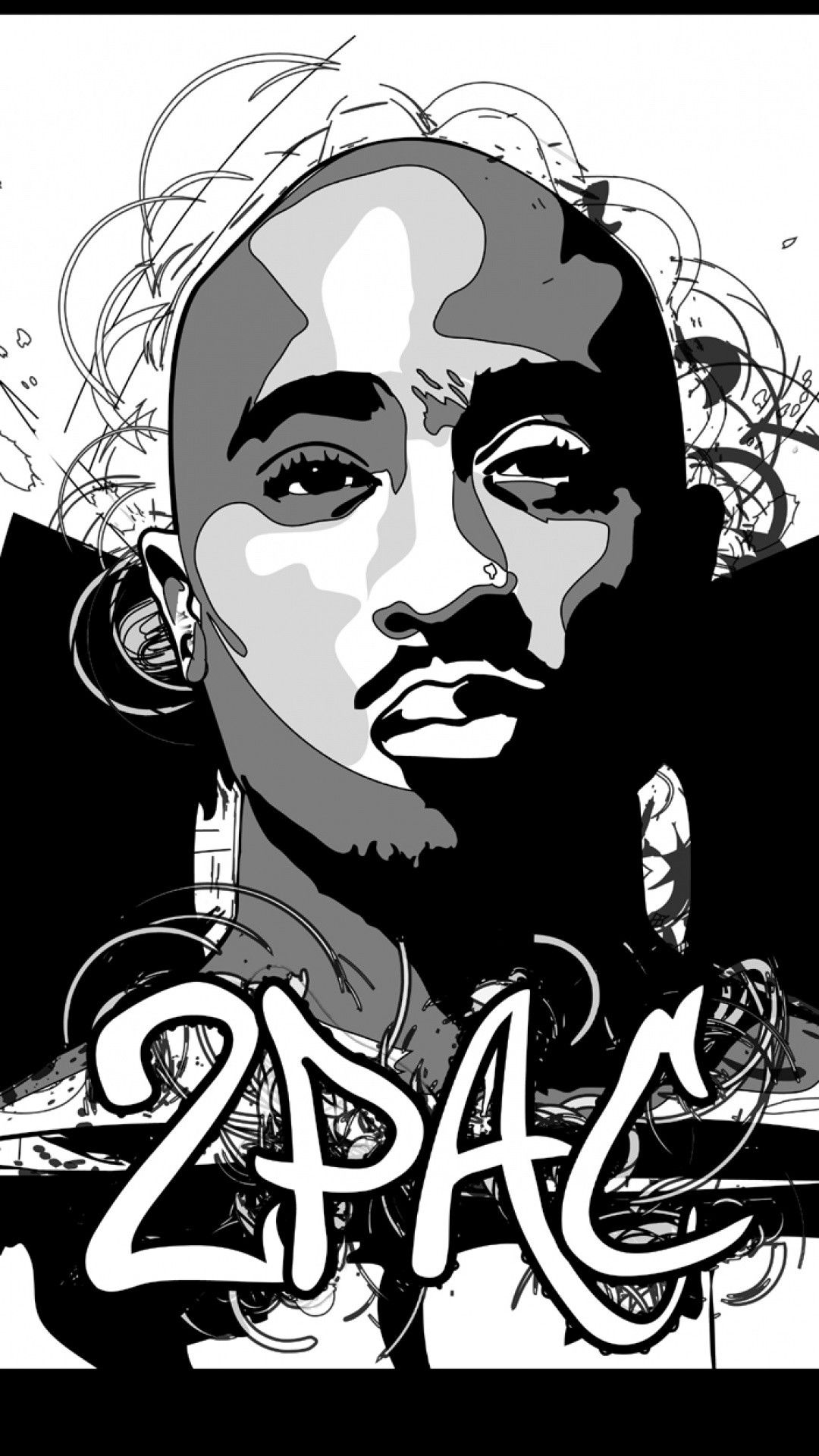 1080x1920 2Pac Wallpaper for iPhone (65+ images)