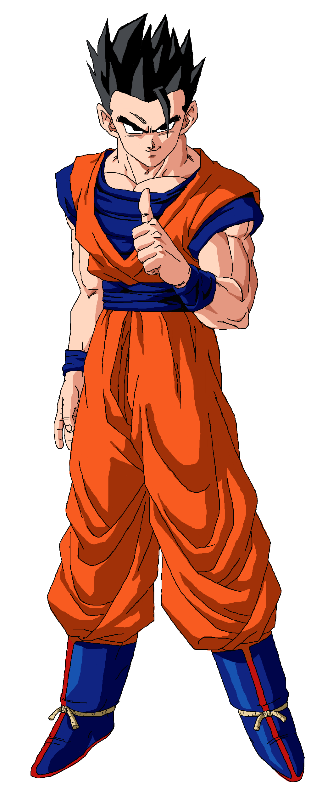 1024x2563 Ultimate Gohan Wallpapers - Shared by Faye | Szzljy