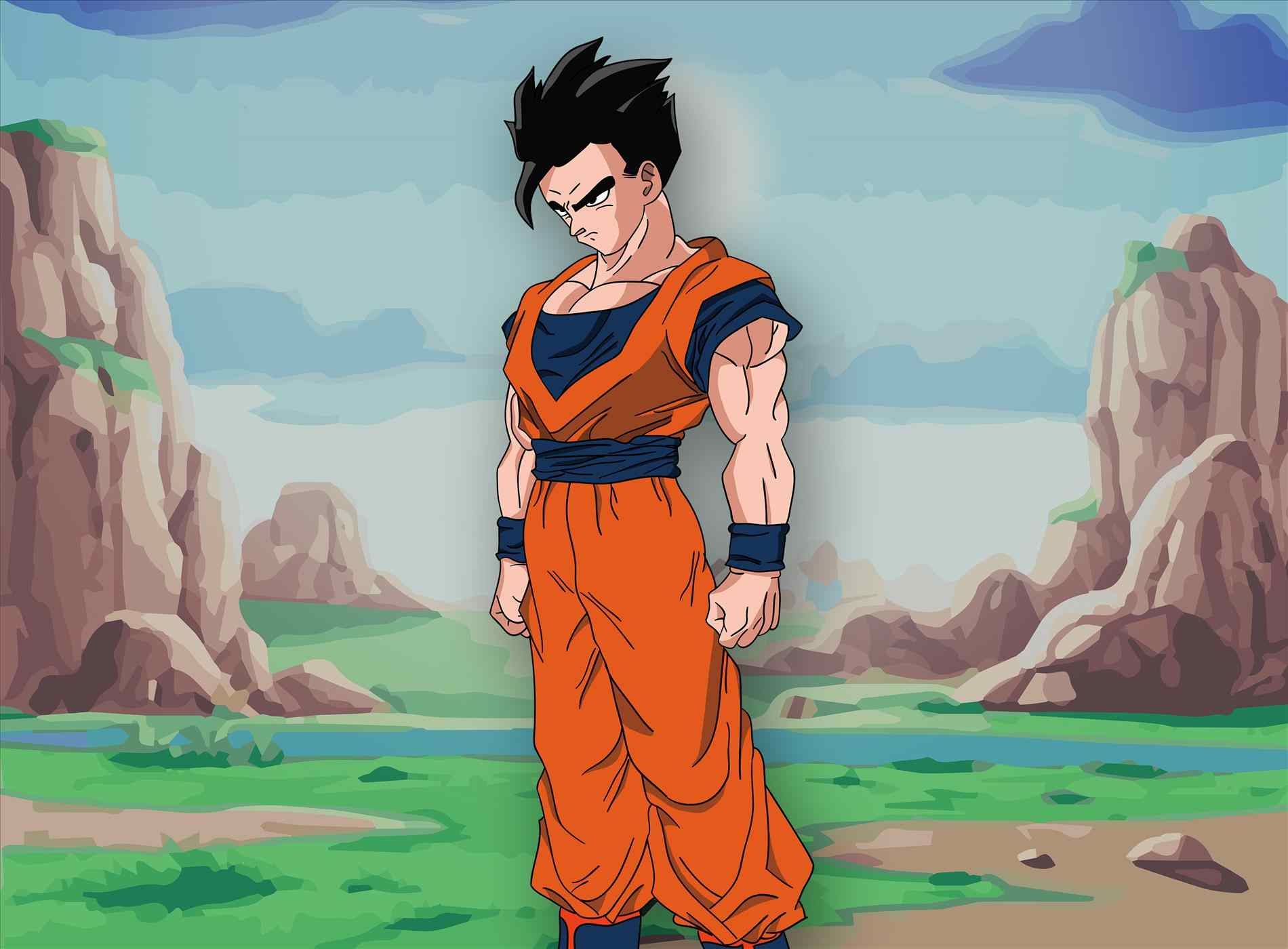 1900x1400 Ultimate Gohan Wallpaper HD Images Picture - HD Wallpapers ...