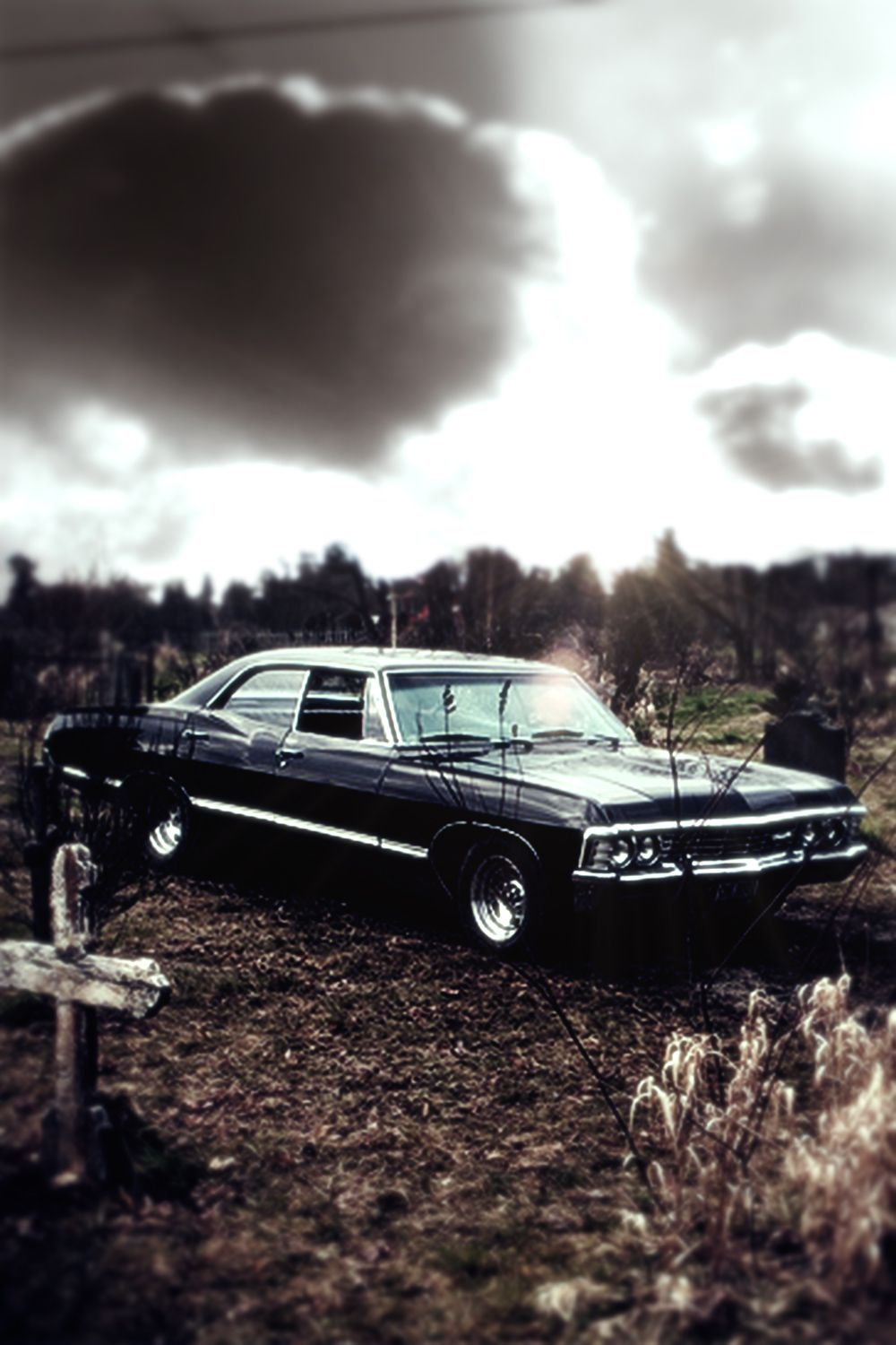 1000x1500 Image - Supernatural 67 chevy impala iphone wallpaper by xerix93 ...