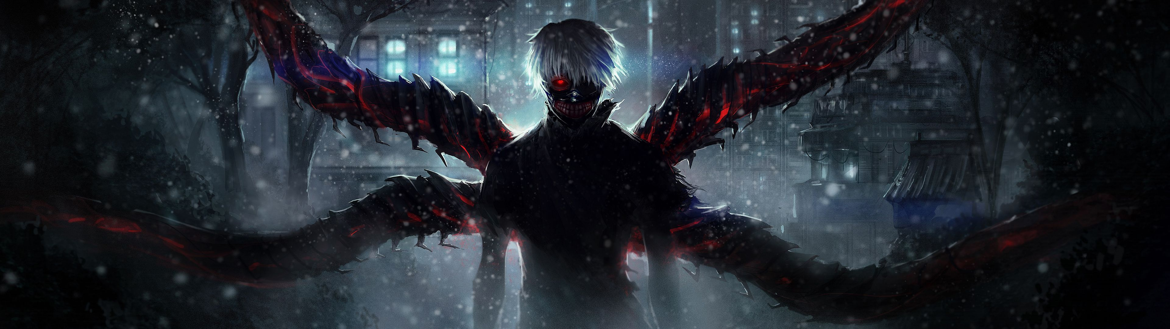 3840x1080 20+ Awesome Dual Monitor Anime Wallpaper Collection