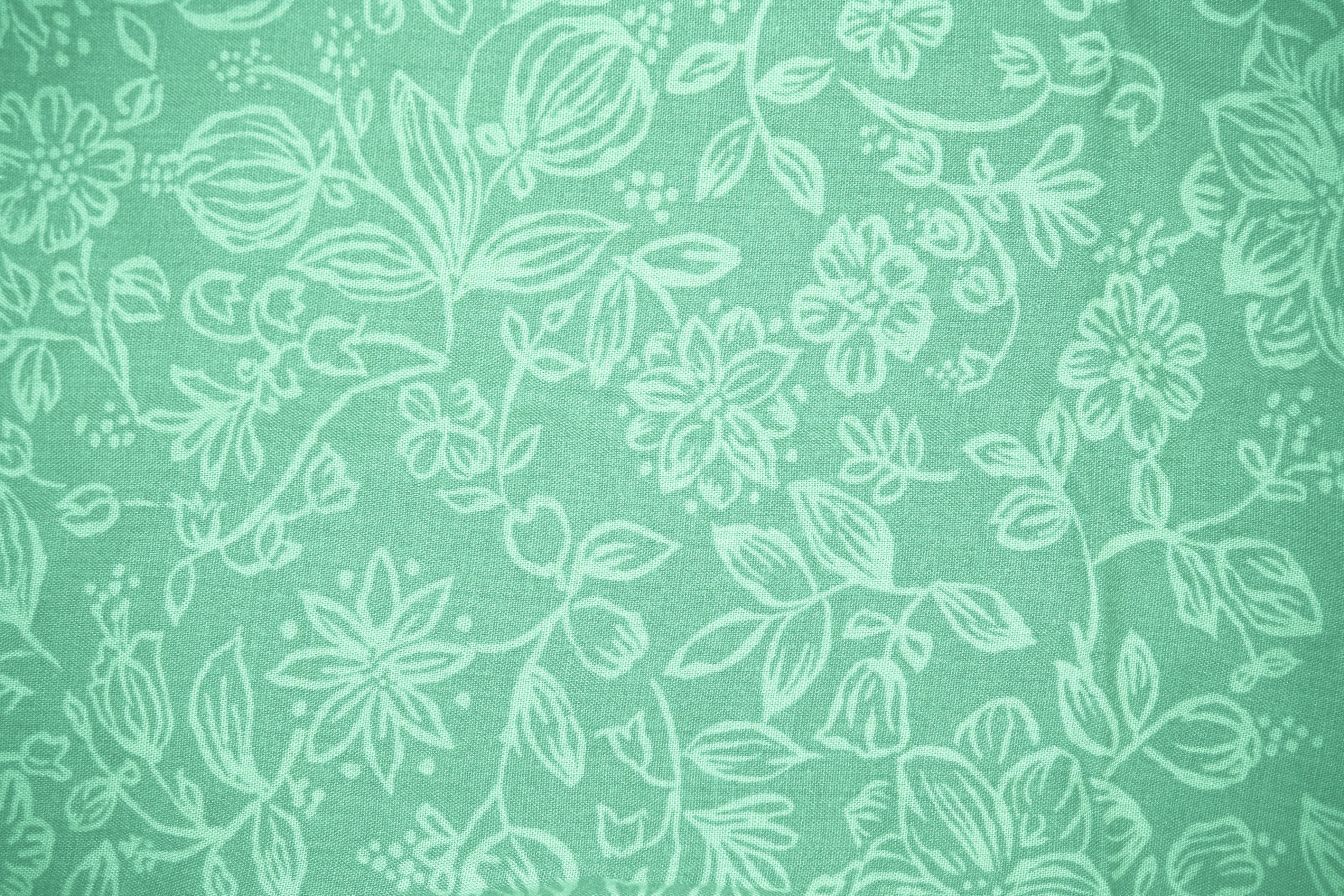 3888x2592 Mint Green Floral Wallpaper High Quality for HD Wallpaper Desktop ...