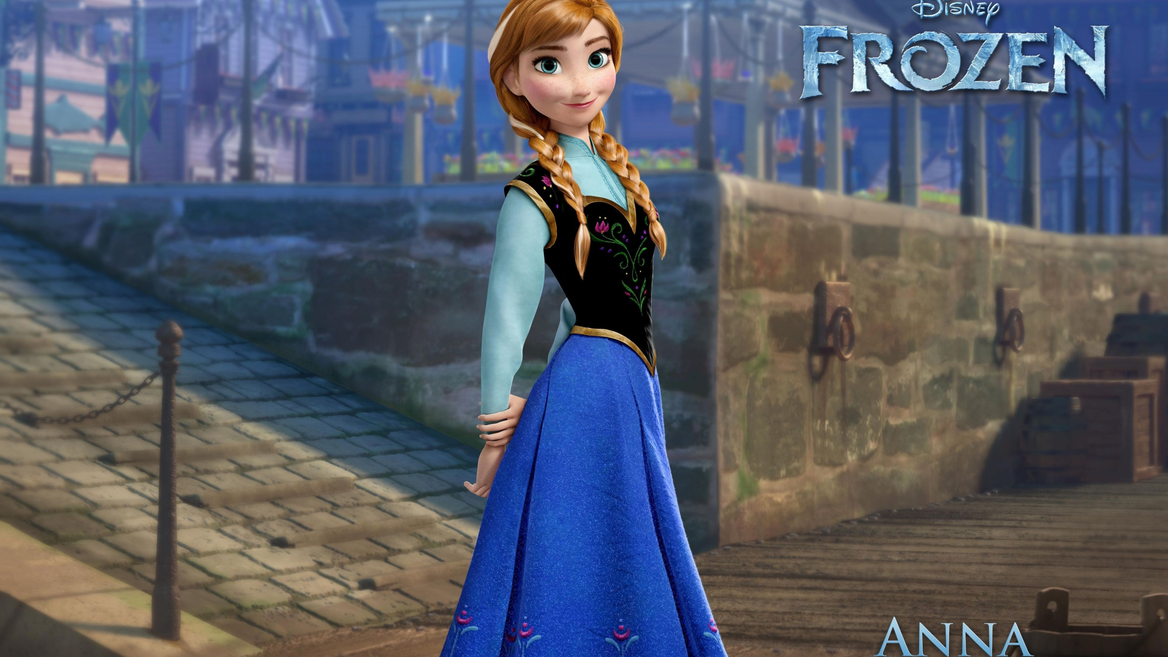 3840x2160 Frozen Anna, HD Movies, 4k Wallpapers, Images, Backgrounds, Photos ...