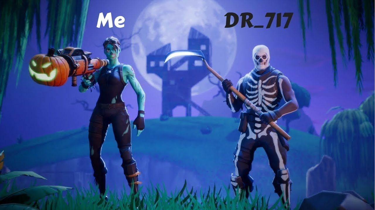 1280x720 Ghoul And Skull Trooper Duo! There Was NO Circle!! - Fortnite ...
