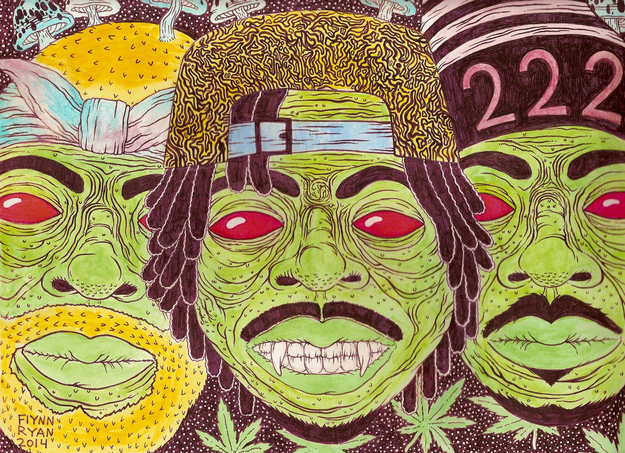 2048x1485 Flatbush zombies wallpaper Gallery