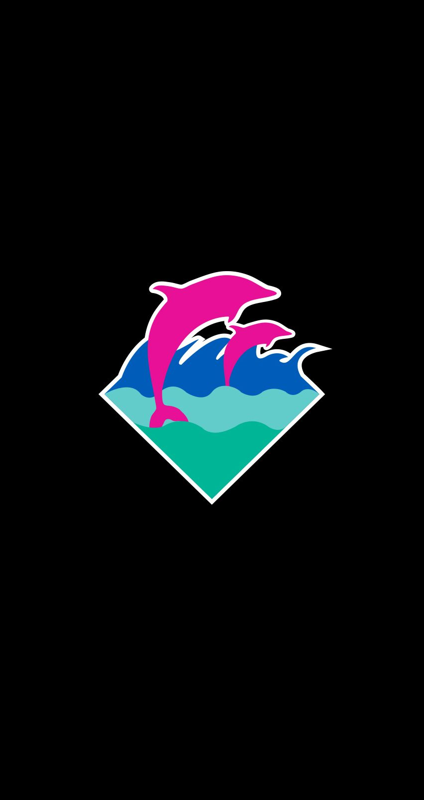 852x1608 Pink Dolphin Wallpapers - WallpaperPulse
