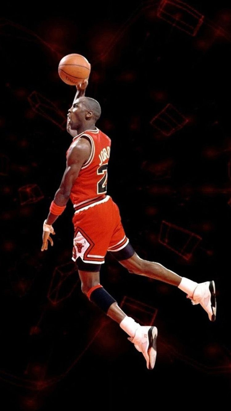 750x1334 Michael Jordan Jumpman Wallpaper - Shared by Vertie | Szzljy