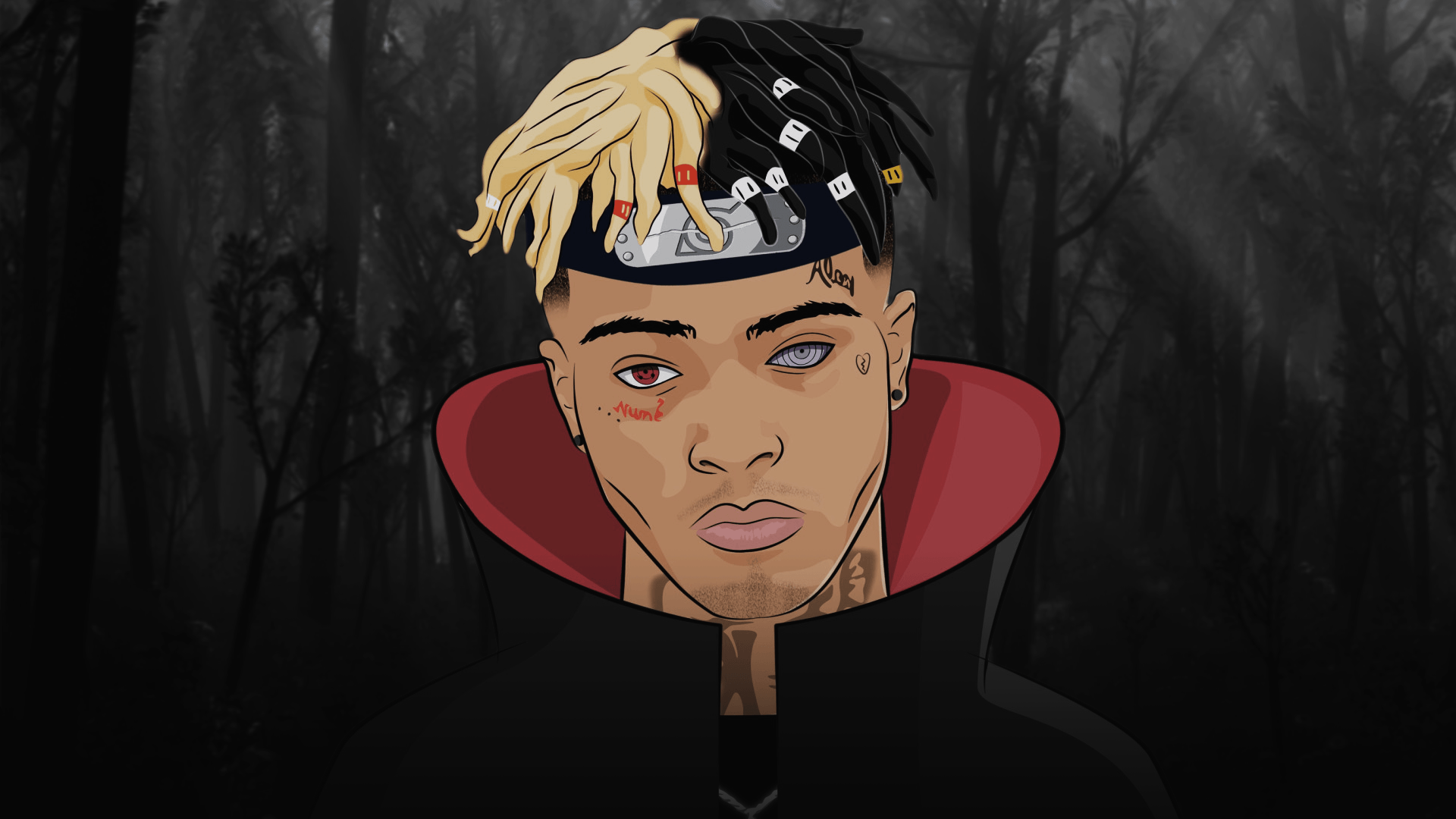 1920x1080 XXXTENTACION | PS4Wallpapers.com