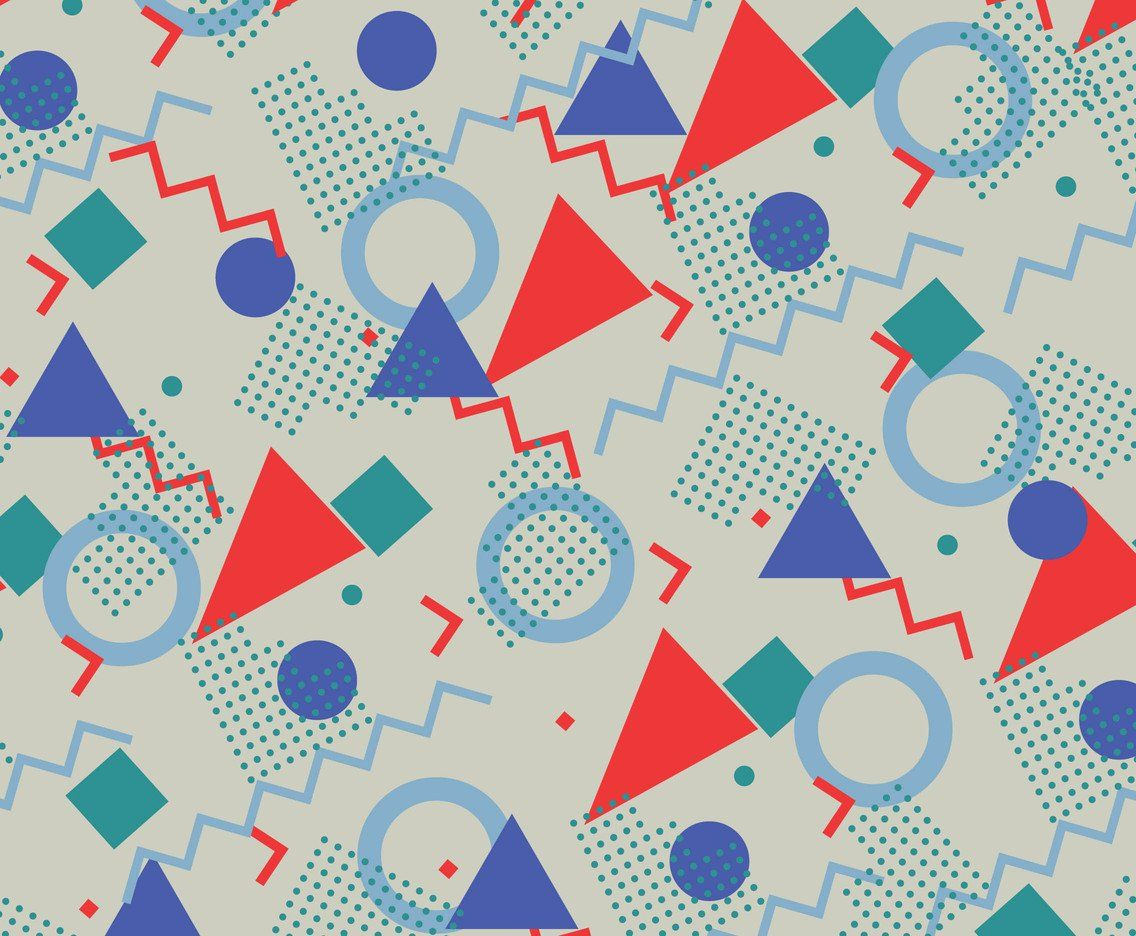 1136x936 80s & 90s Vintage Pattern Vector Art & Graphics | freevector.com
