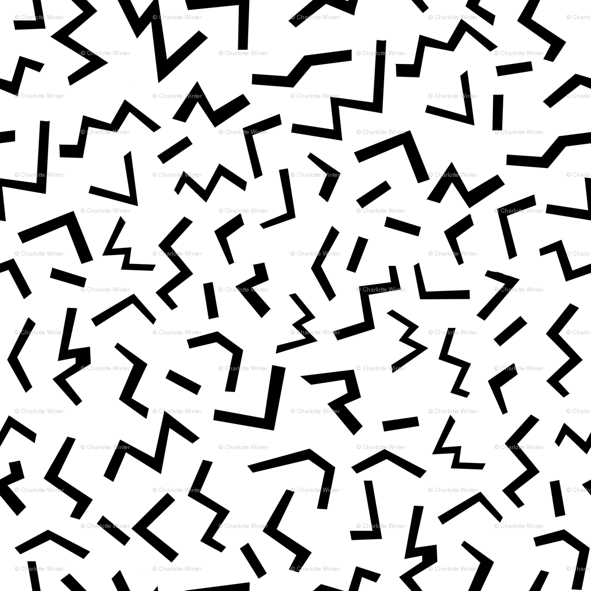 1200x1200 edgy shapes black and white minimal graphic kids trendy 80s 90s rad ...