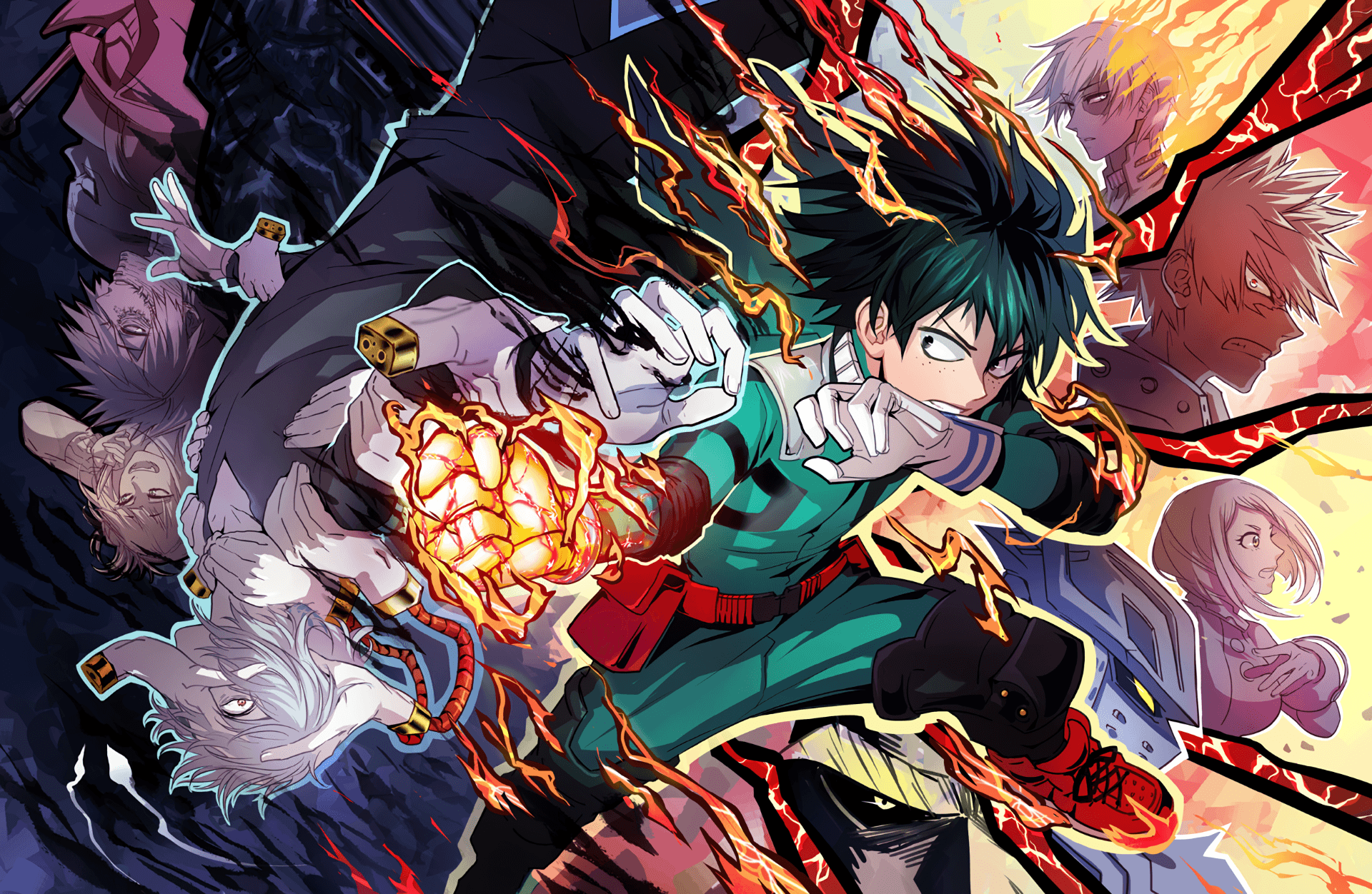 1920x1252 1246 My Hero Academia HD Wallpapers | Background Images - Wallpaper ...