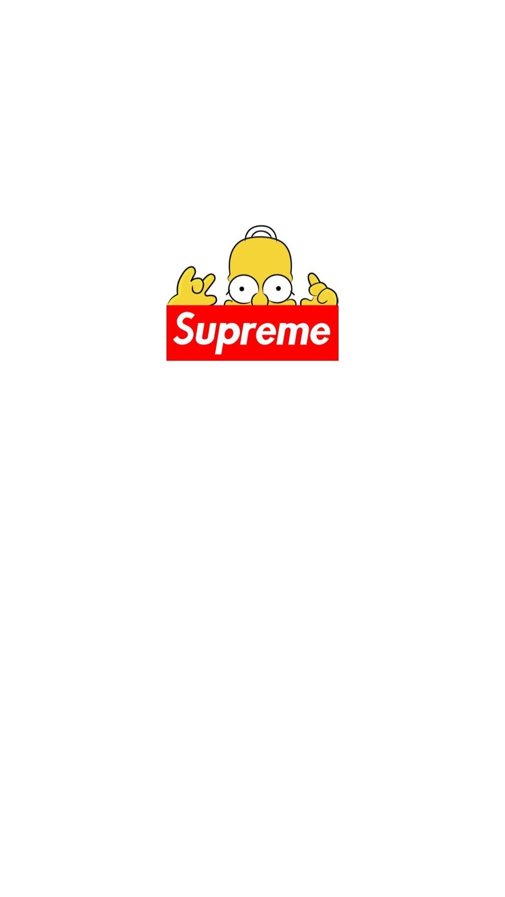 1024x1820 wallpaper simpsons supreme - Image by Min Sae Yeon
