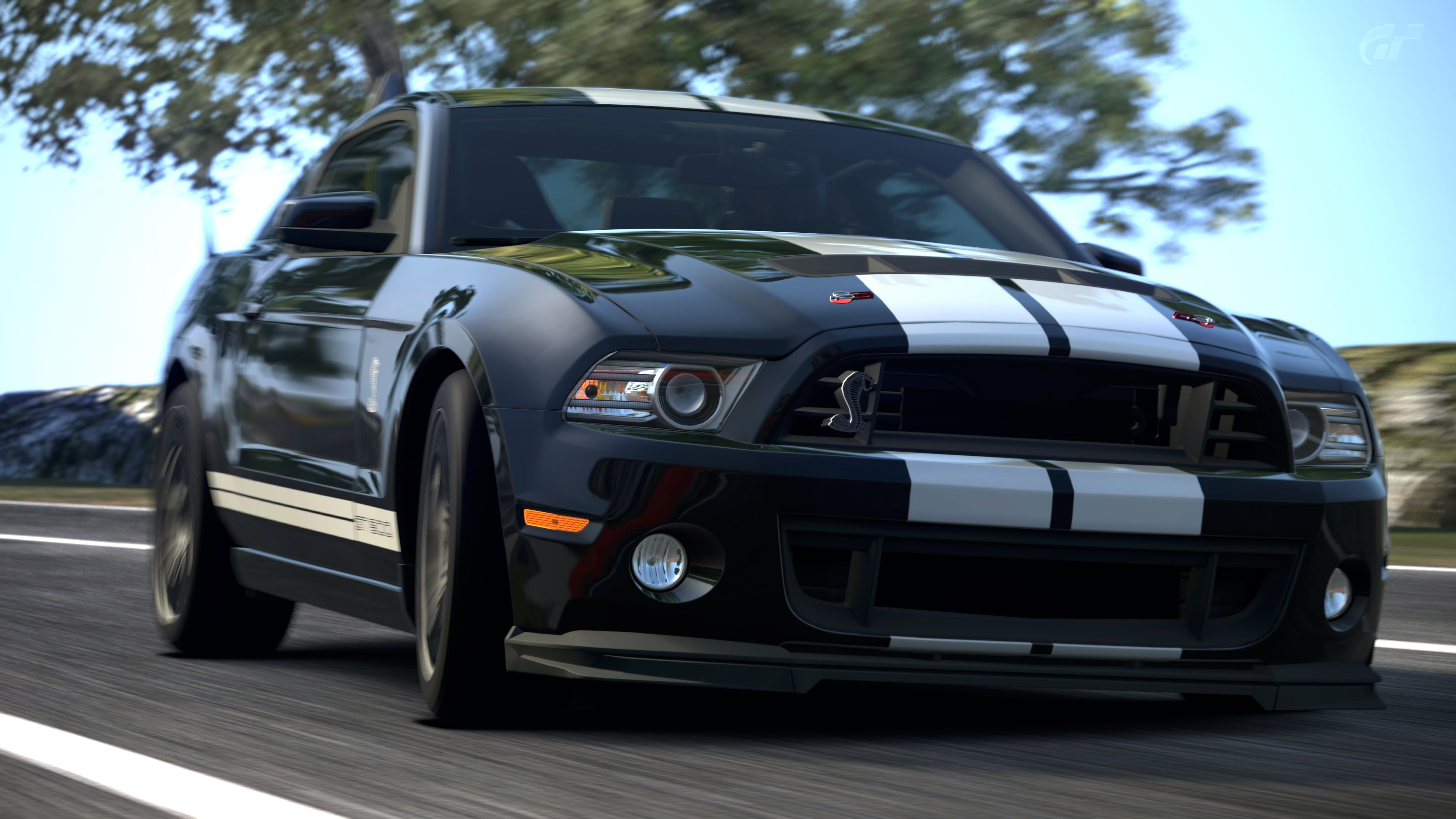 3840x2160 2013 Ford Mustang Shelby GT500 (Gran Turismo 6) by Vertualissimo on ...