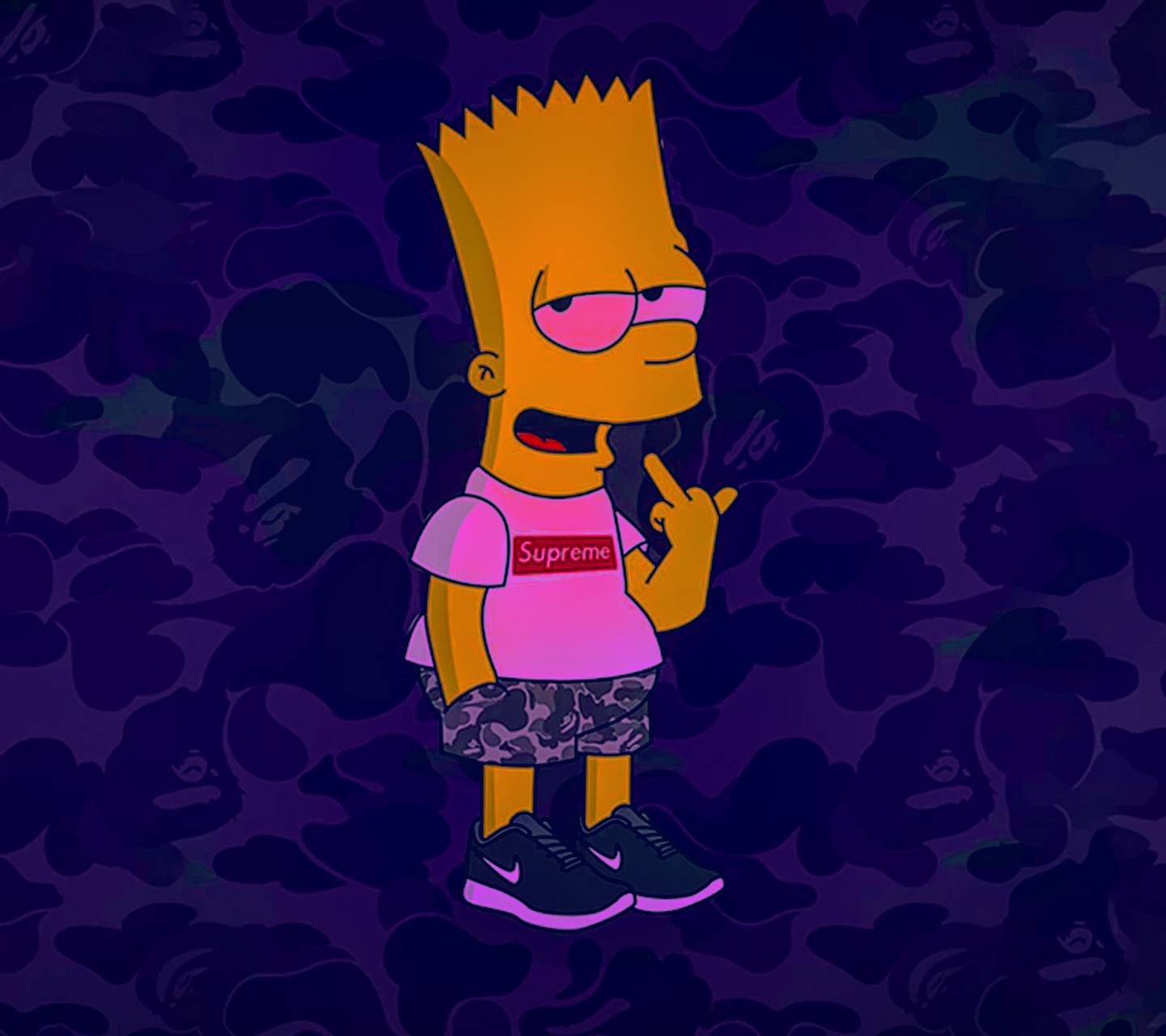 1440x1280 Bart Simpson Wallpaper Hd Group Pictures(54+)