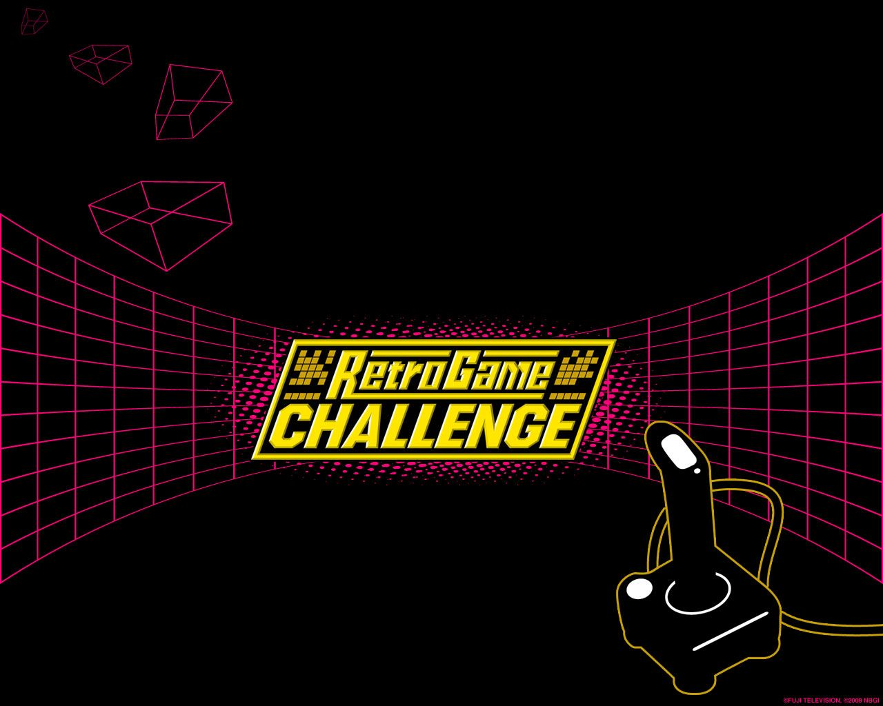 1280x1024 Retro Game Challenge (2007) promotional art - MobyGames