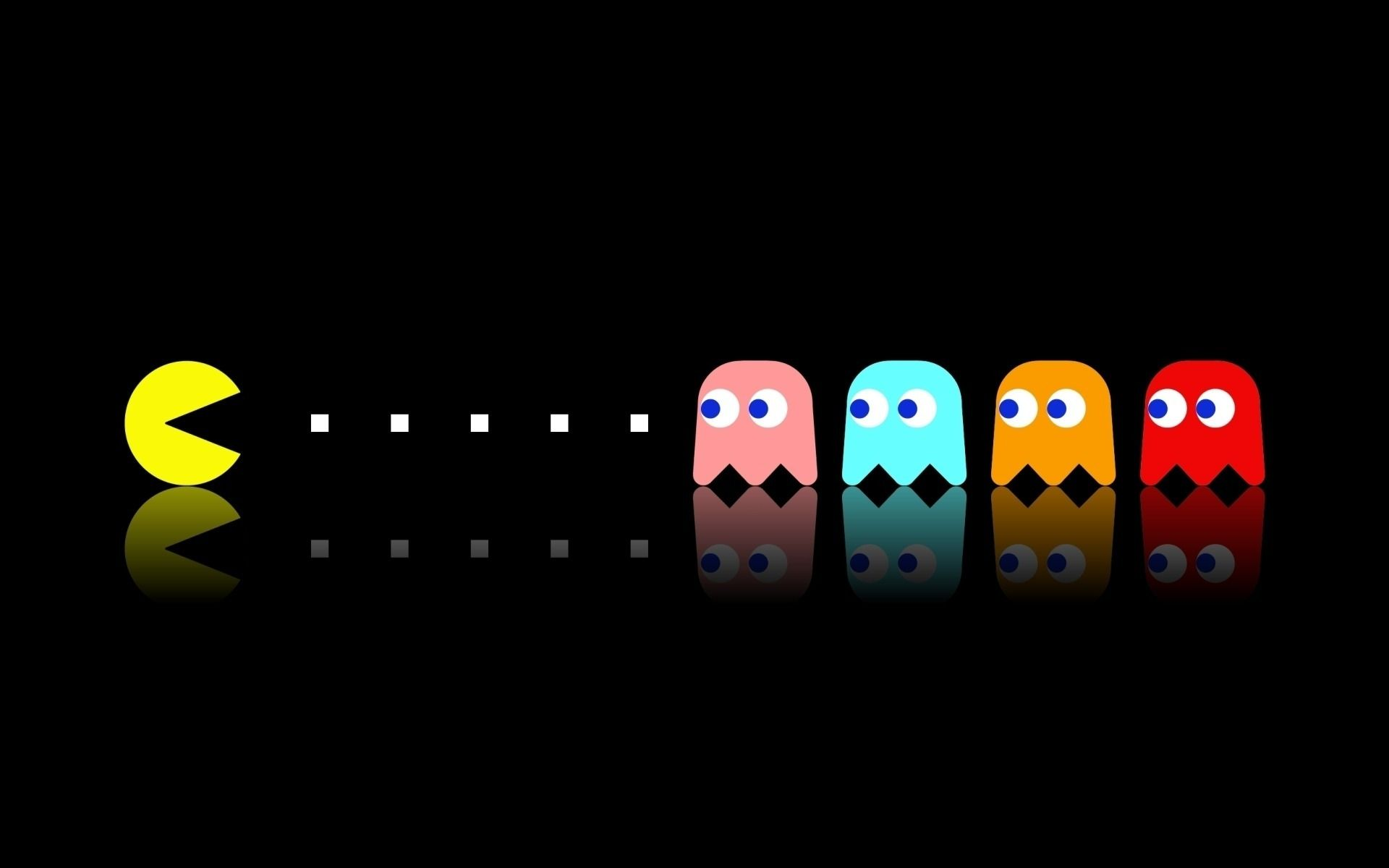 1920x1200 Pac-man dual screen wallpaper | Computer Wallpapers | Pinterest ...