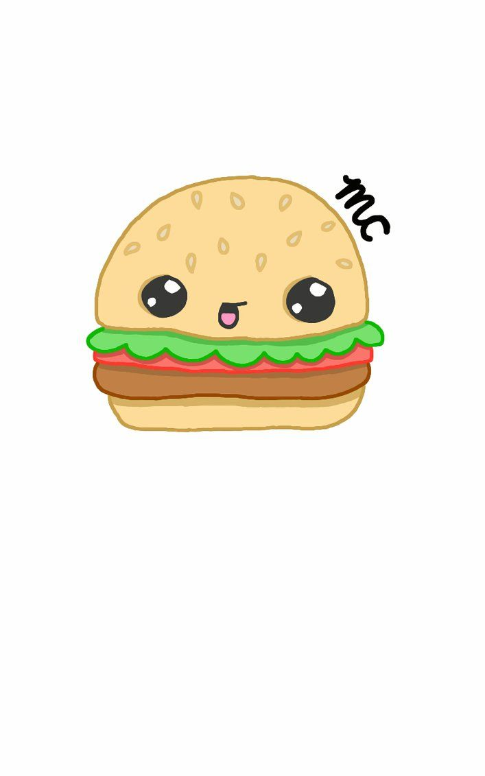 707x1131 28+ Collection of Hamburger Drawing Cute   High quality, free ...