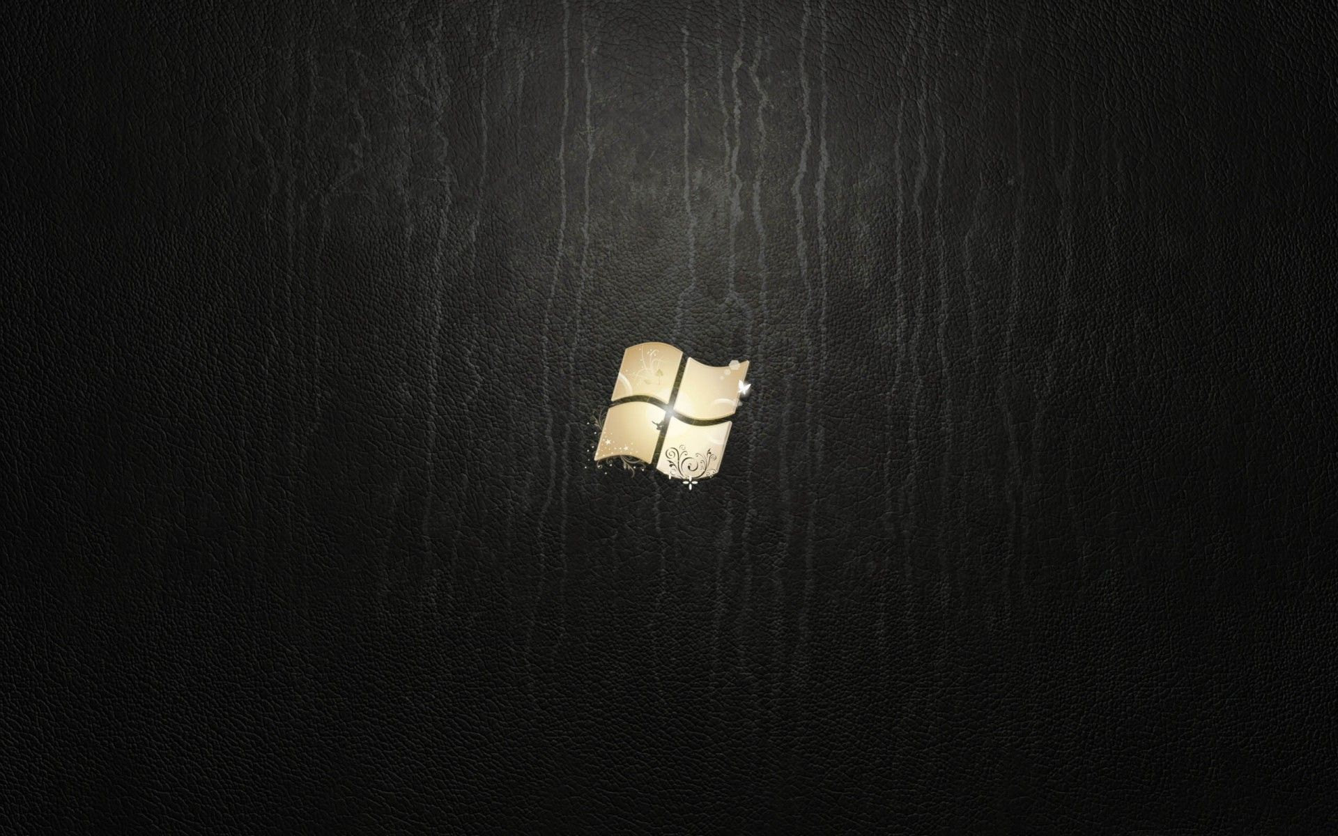 """1920x1200 Windows 7: """"Ultimate Leather"""" wallpaper (2009, edited) 