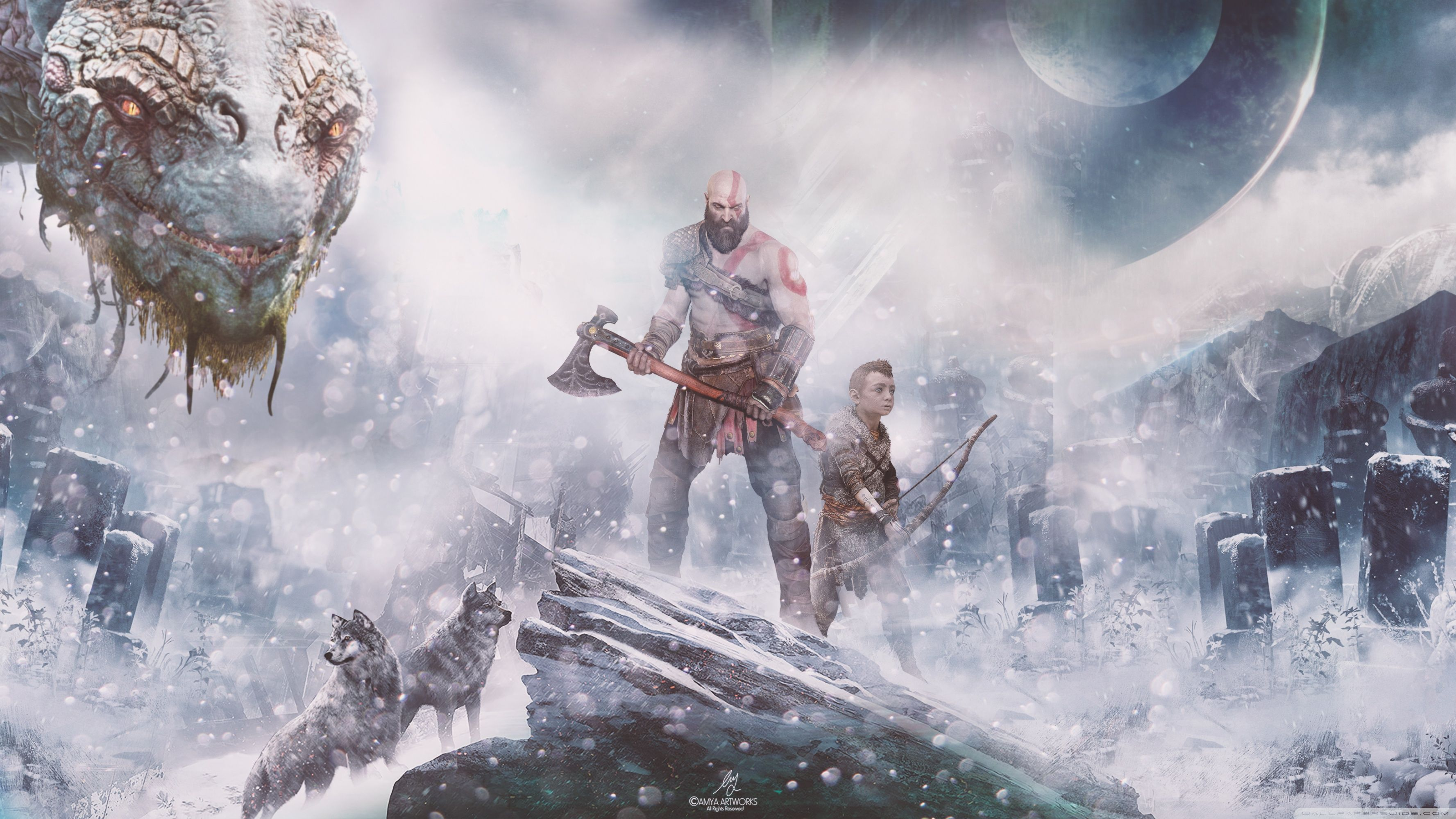 3554x1999 Norse Wallpaper - HD Wallpaper Pictures