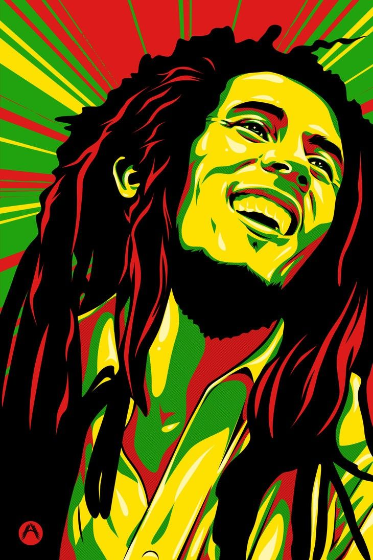 730x1095 Xbob Marley Colors Wallpapers For Iphone On High Resolution ...