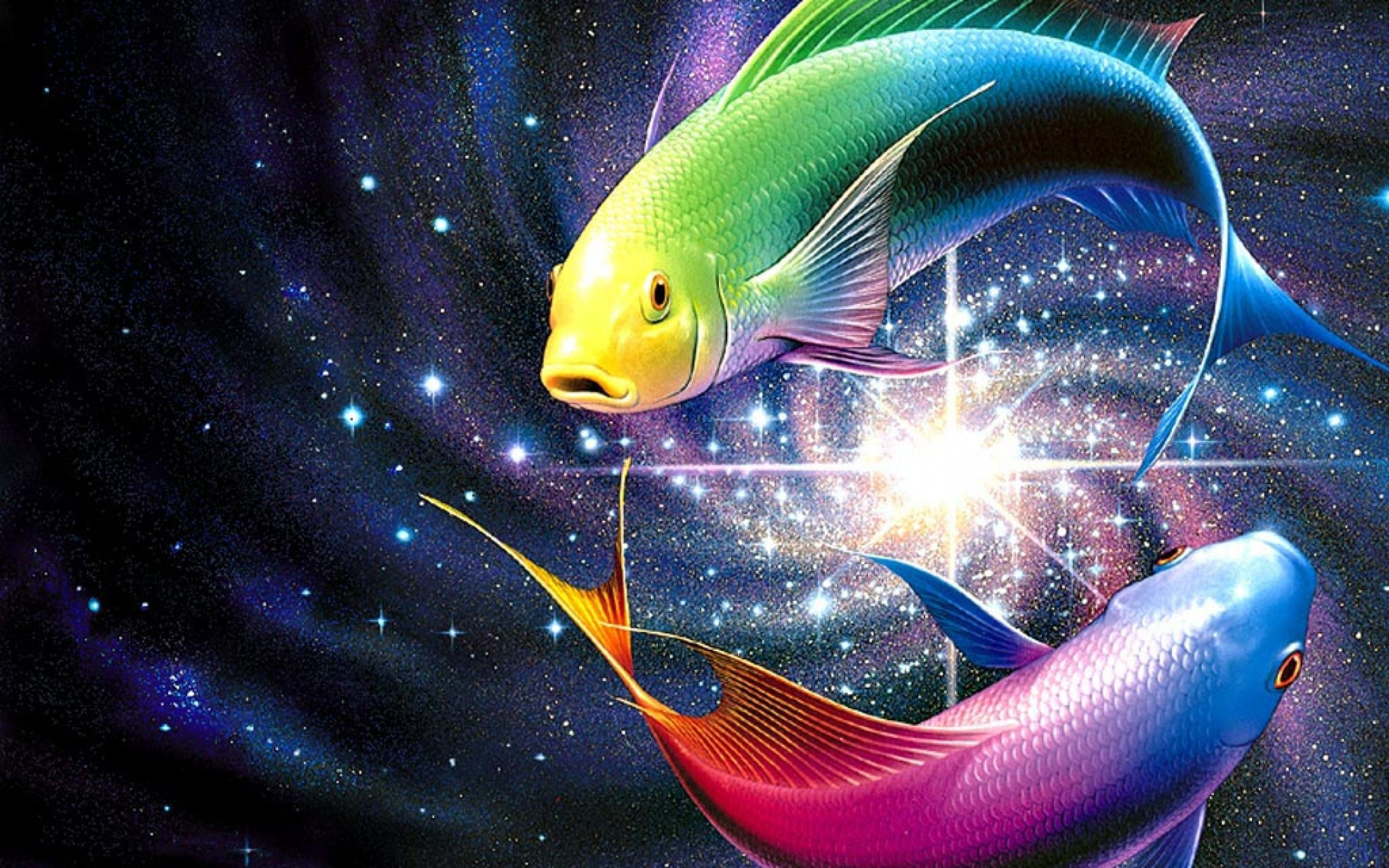 2880x1800 Free 3D Desktop Wallpaper Screensavers | Pisces Wallpapers [ Pisces ...