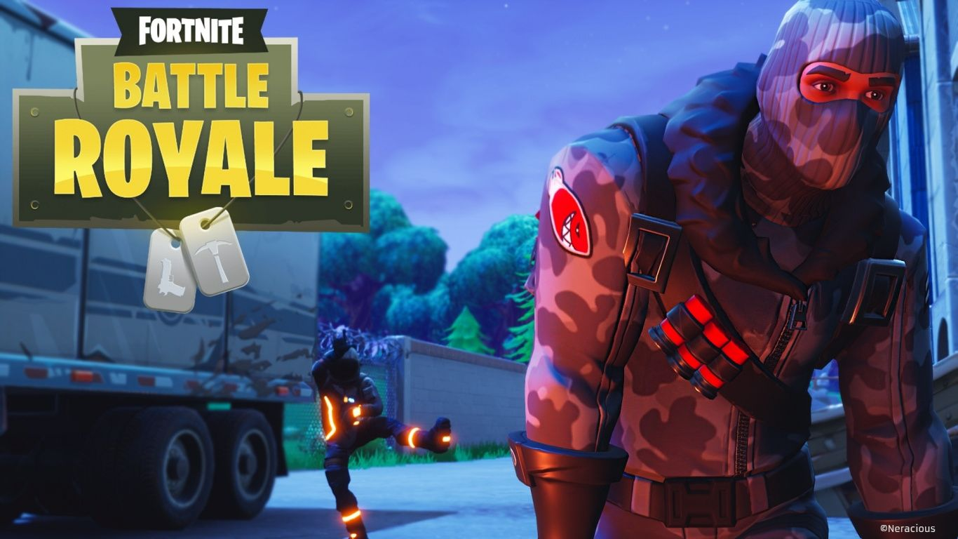 1366x768 Download 1366x768 Wallpaper Video Game, Fortnite Battle Royale, 2018 ...