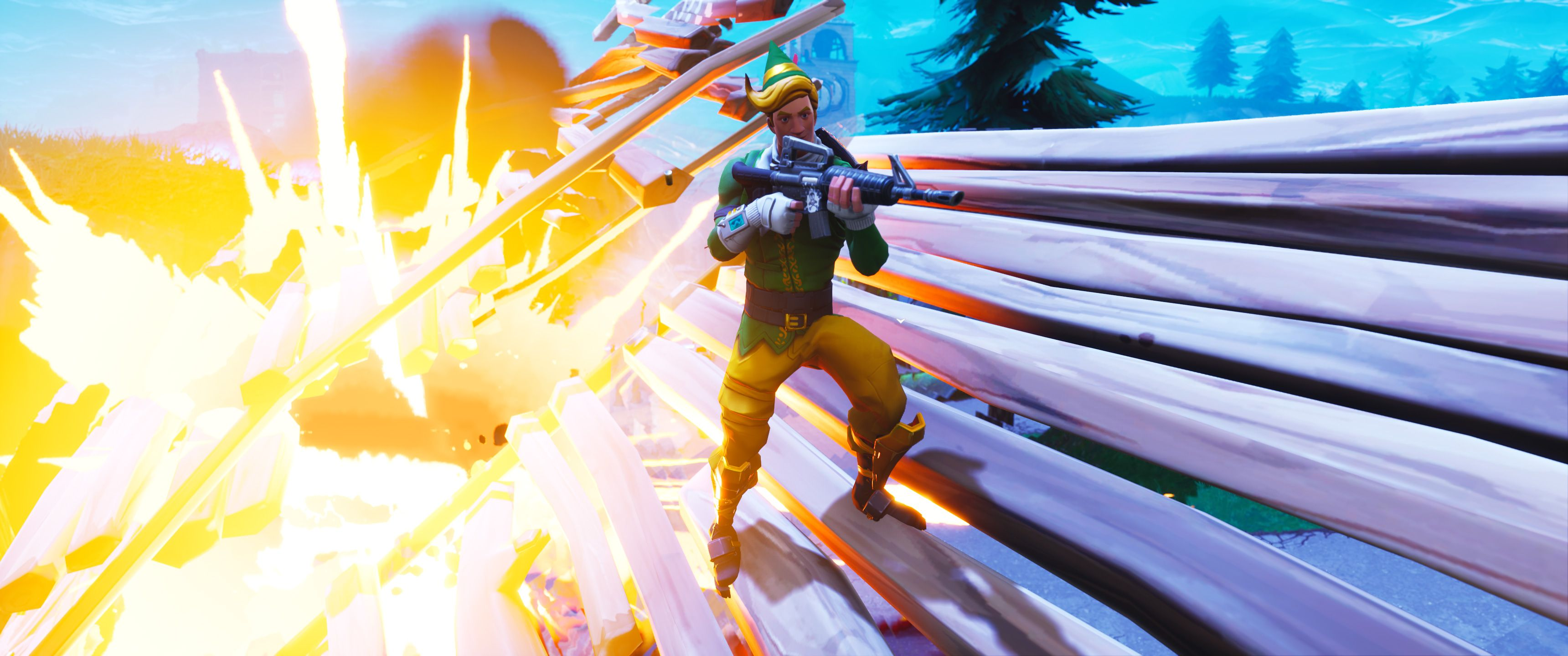 3440x1440 Fortnite Battle Royale, HD Games, 4k Wallpapers, Images, Backgrounds ...