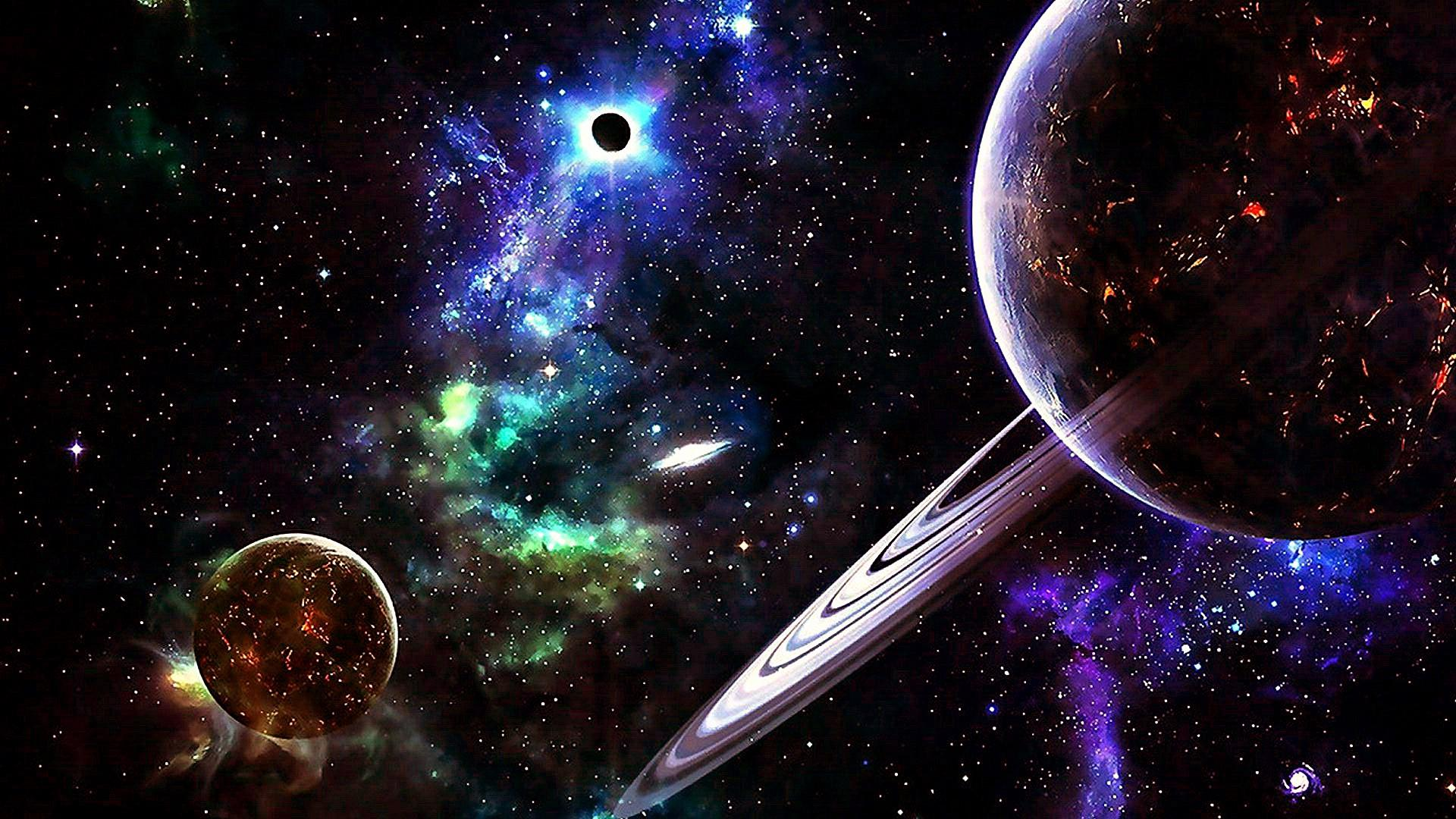 1920x1080 Planets In The Universe Wallpaper   Wallpaper Studio 10   Tens of ...