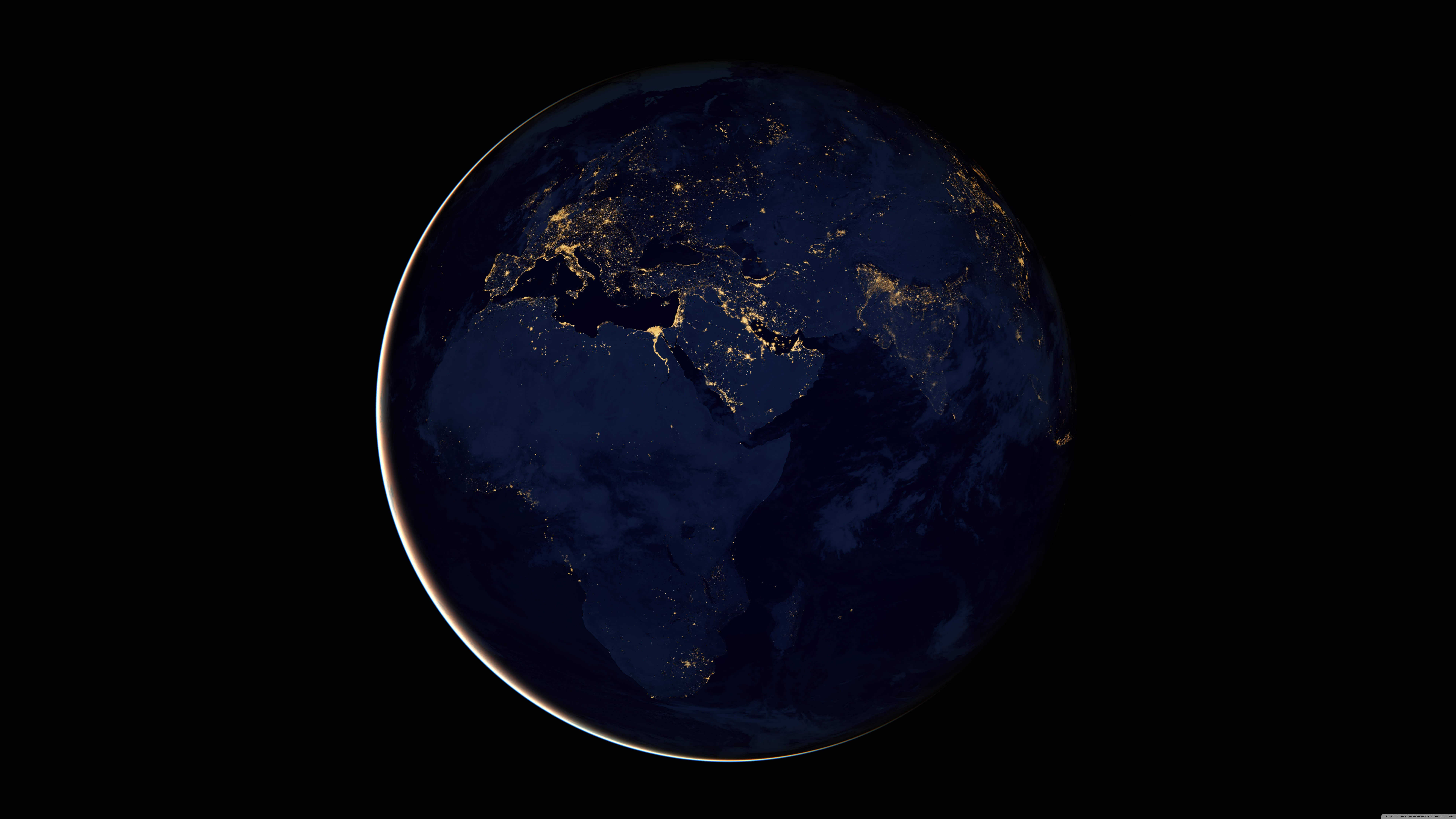 7680x4320 Black Marble Africa Europe And The Middle East UHD 8K Wallpaper   Pixelz