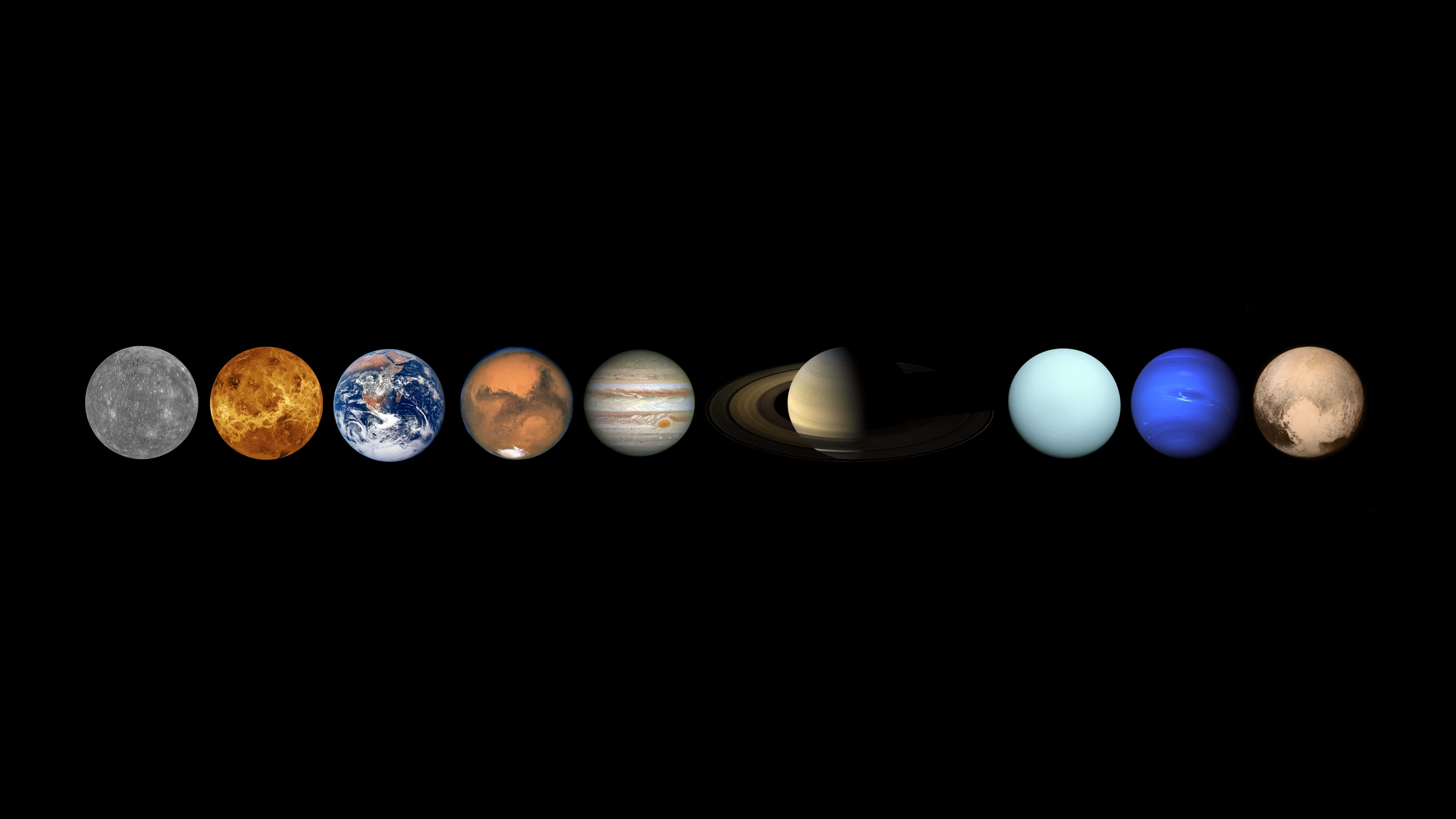 7680x4320 Planets In Our Solar System UHD 8K Wallpaper   Pixelz