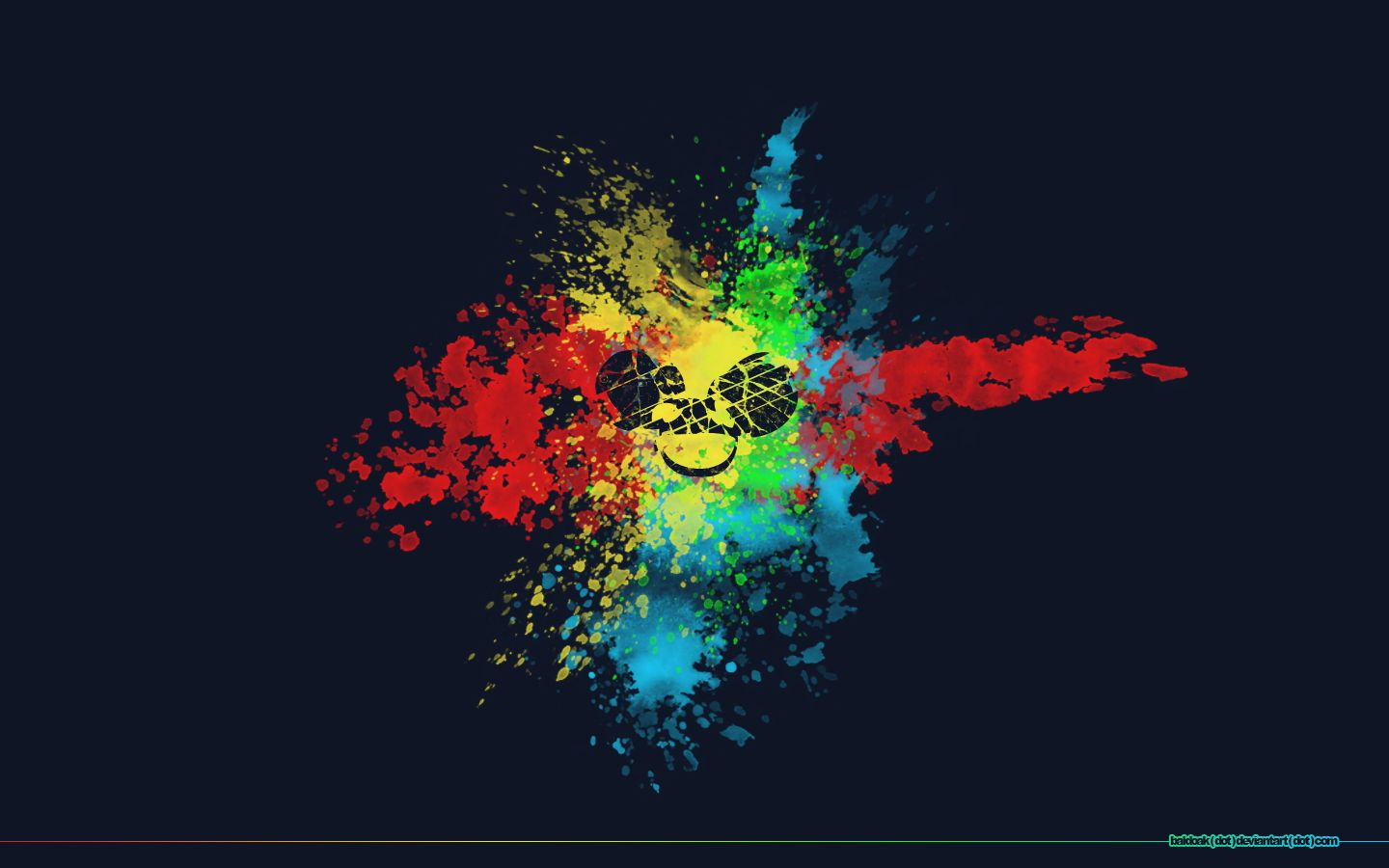 1440x900 Deadmau5 images splatter Deadmau5 HD wallpaper and background photos ...