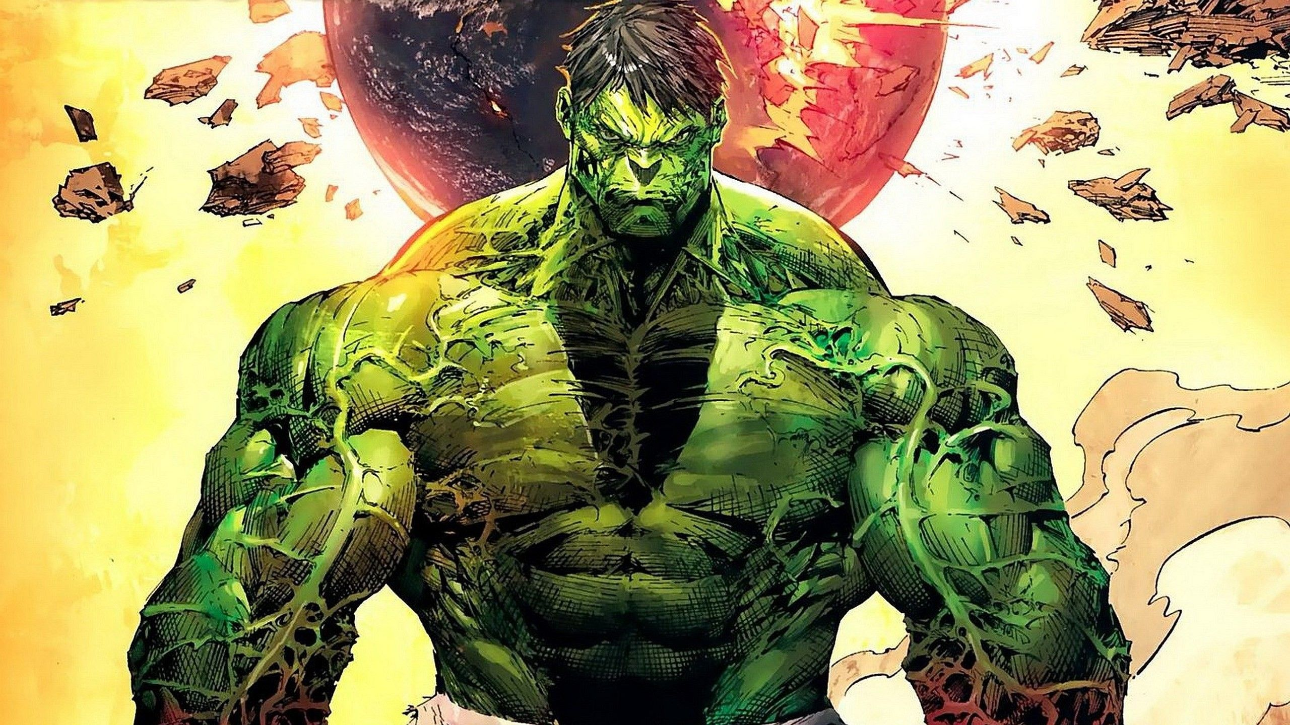 2560x1440 World War Hulk Wallpaper (69+ images)