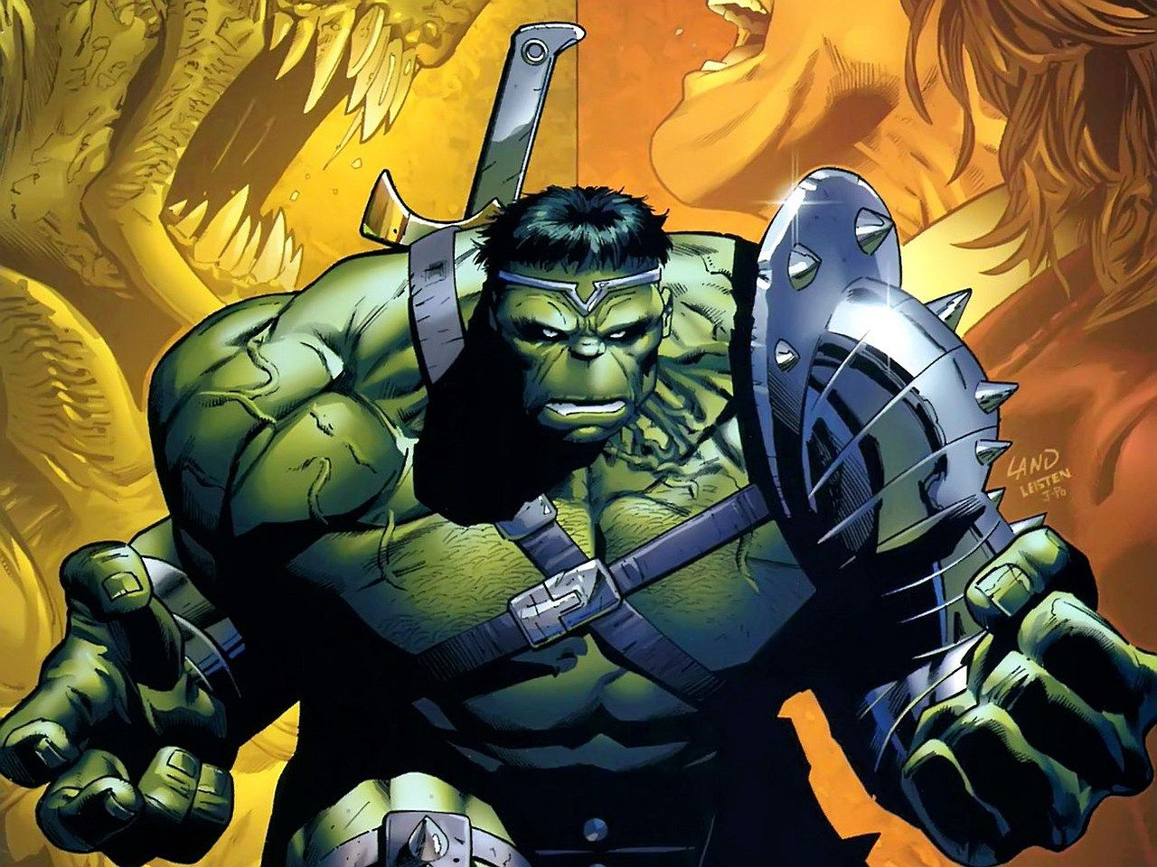 1280x960 Wallpaper of the Day - World War Hulk — Word of The Nerd