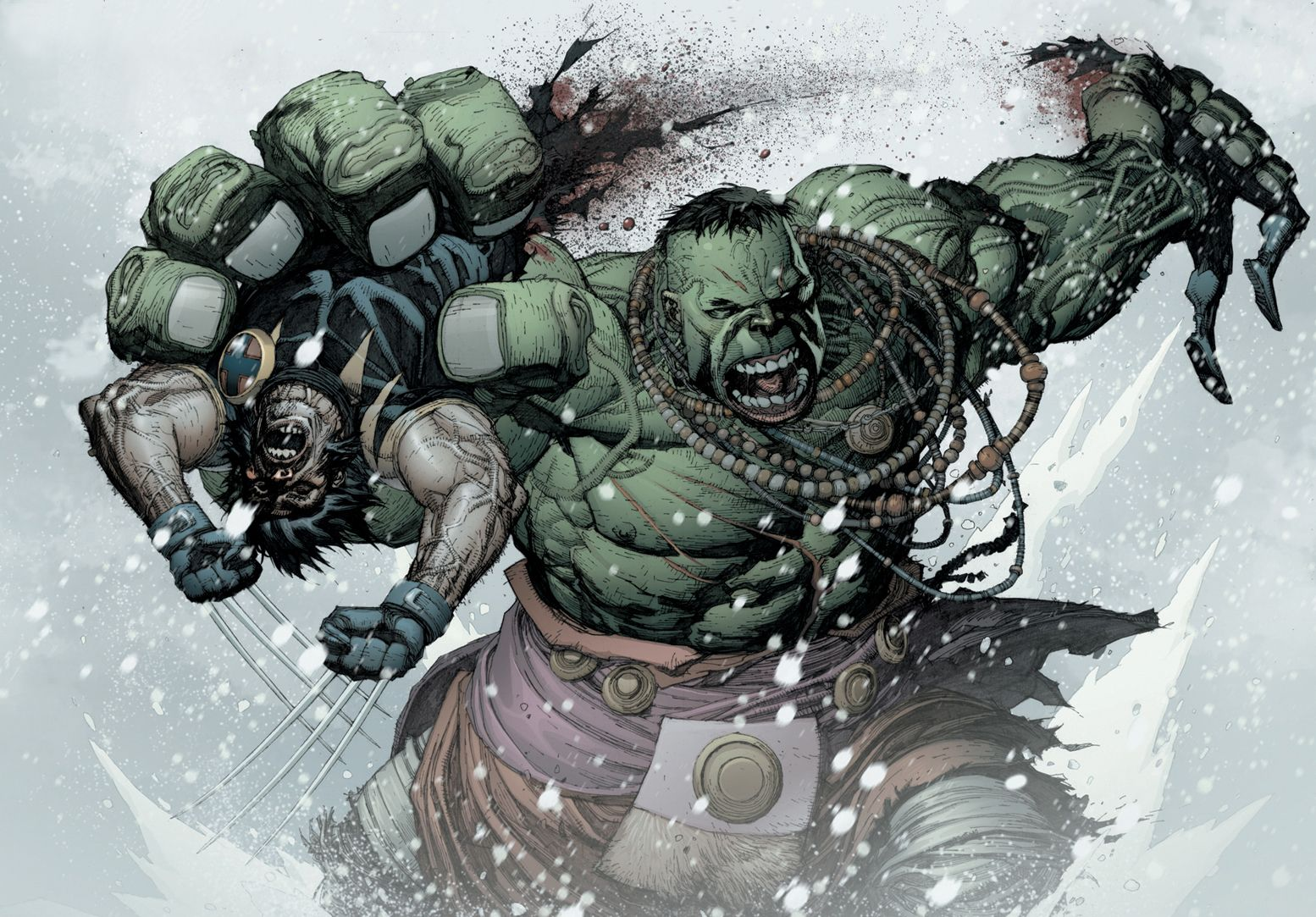 1554x1083 1 vs 100: World War Hulk vs Wolverine - Battles - Comic Vine