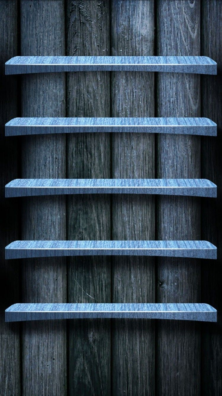 750x1334 iPhone 6 wallpapers Blue Wood