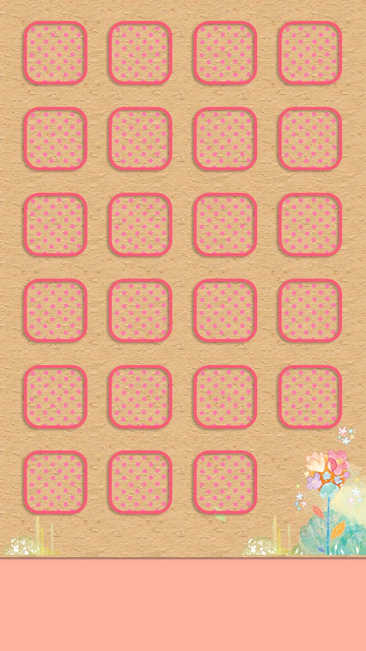 750x1334 Download Girly shelves 750 x 1334 Home Screen Wallpapers - 4584616 ...