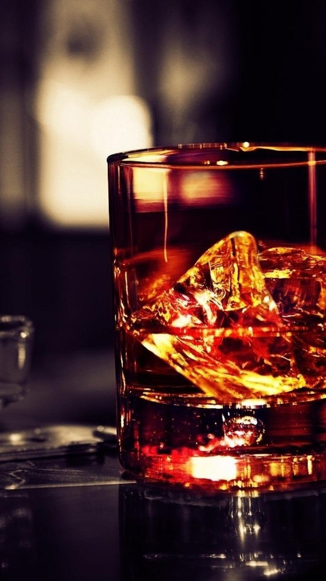 1080x1920 Whiskey Glass Rocks #iPhone #7 #wallpaper   iPhone 8 wallpapers ...