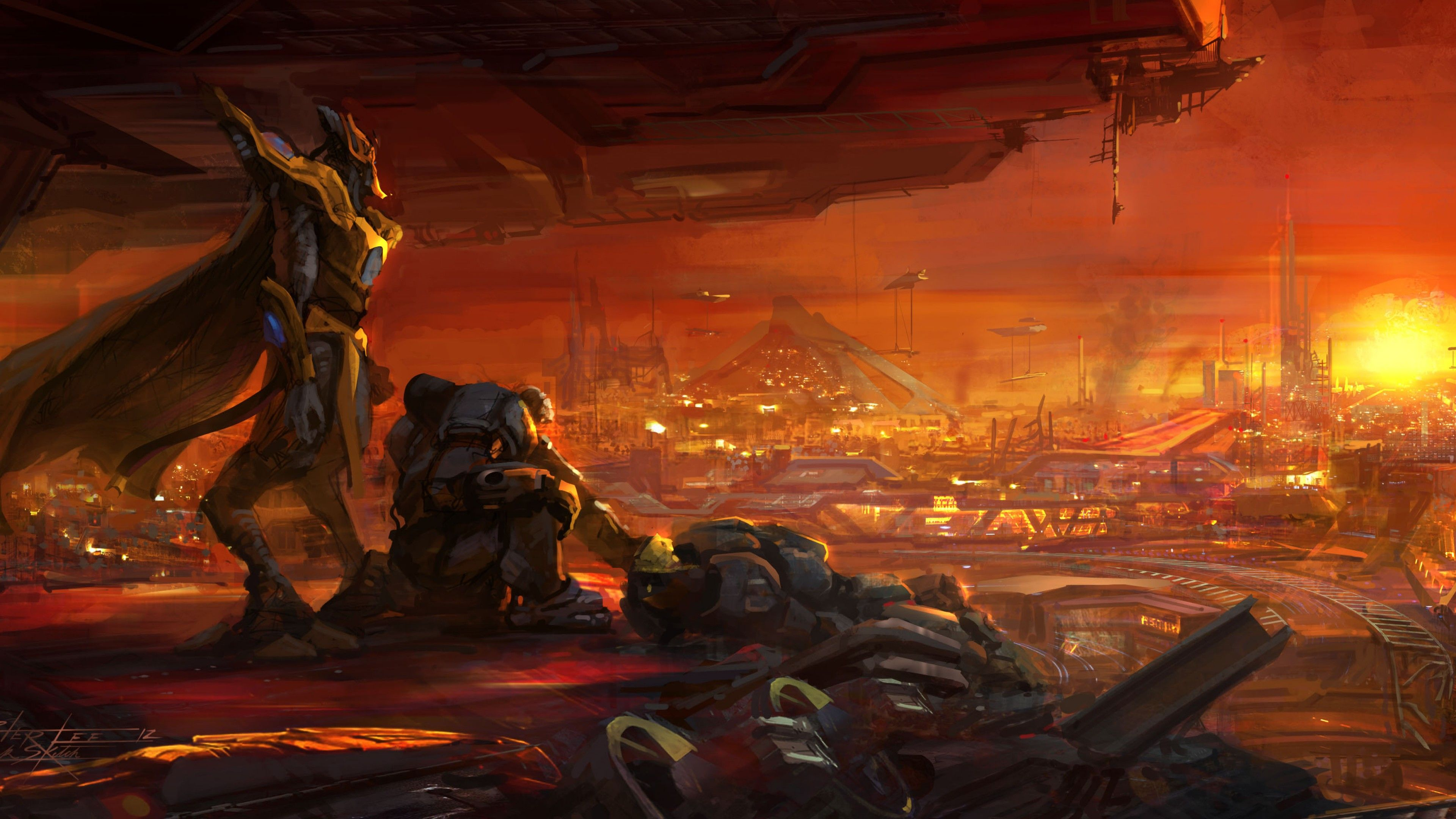 3840x2160 Wallpaper StarCraft 2: Legacy of the Void, Best Game, sci-fi, PC ...