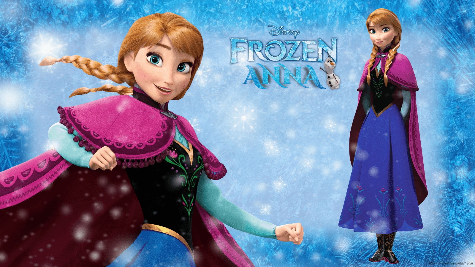 1600x900 Frozen images Frozen Anna HD wallpaper and background photos (37731259)