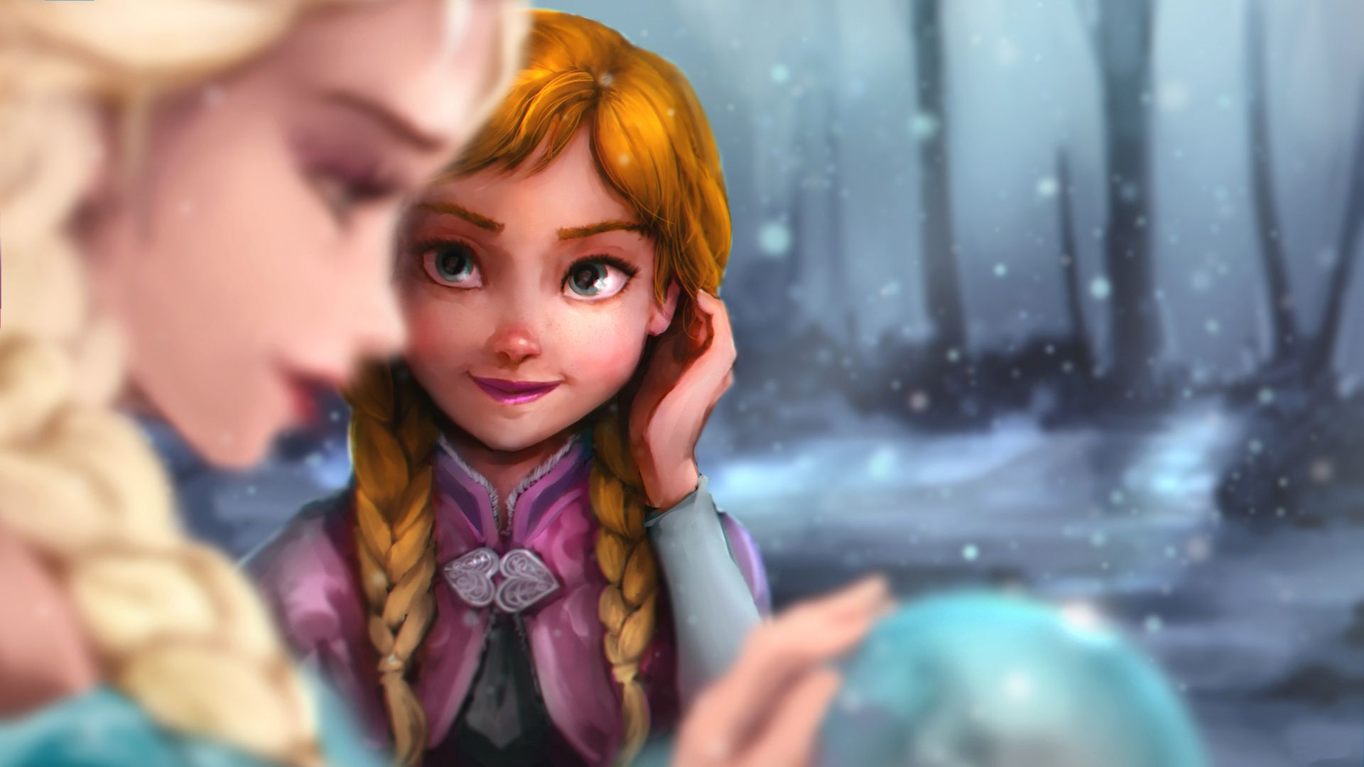 1920x1080 wallpaper.wiki-Elsa-And-Anna-HD-Wallpapers-PIC-WPB006722 | wallpaper ...