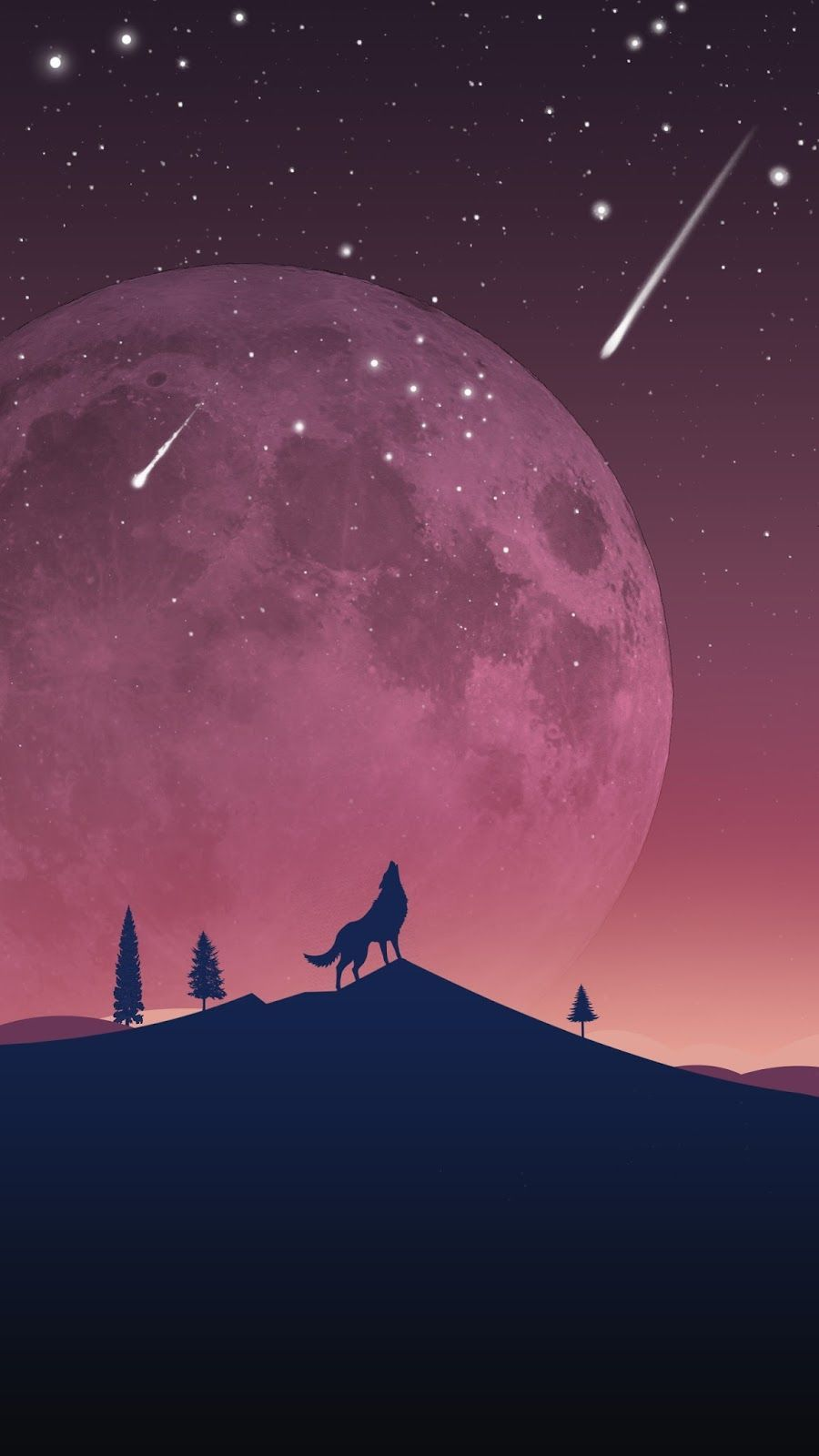 900x1600 Geometric Wolf Wallpaper Group Pictures(35+)