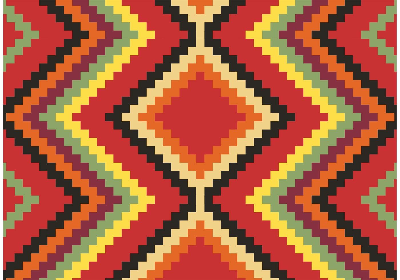 1400x980 Native American Pattern Free Vector - Download Free Vector Art ...