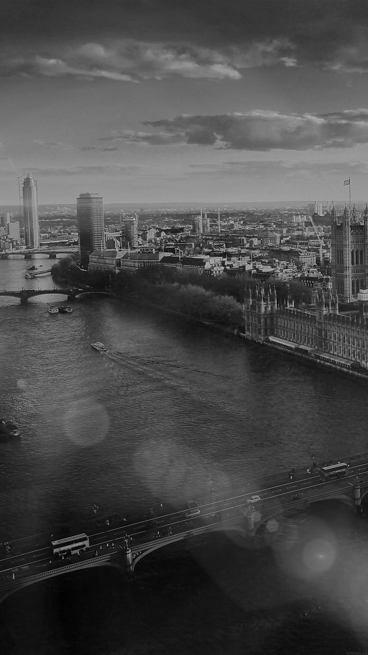 1242x2208 iPhone6papers - mm25-england-london-dark-bw-skyview-city-flare-big ...