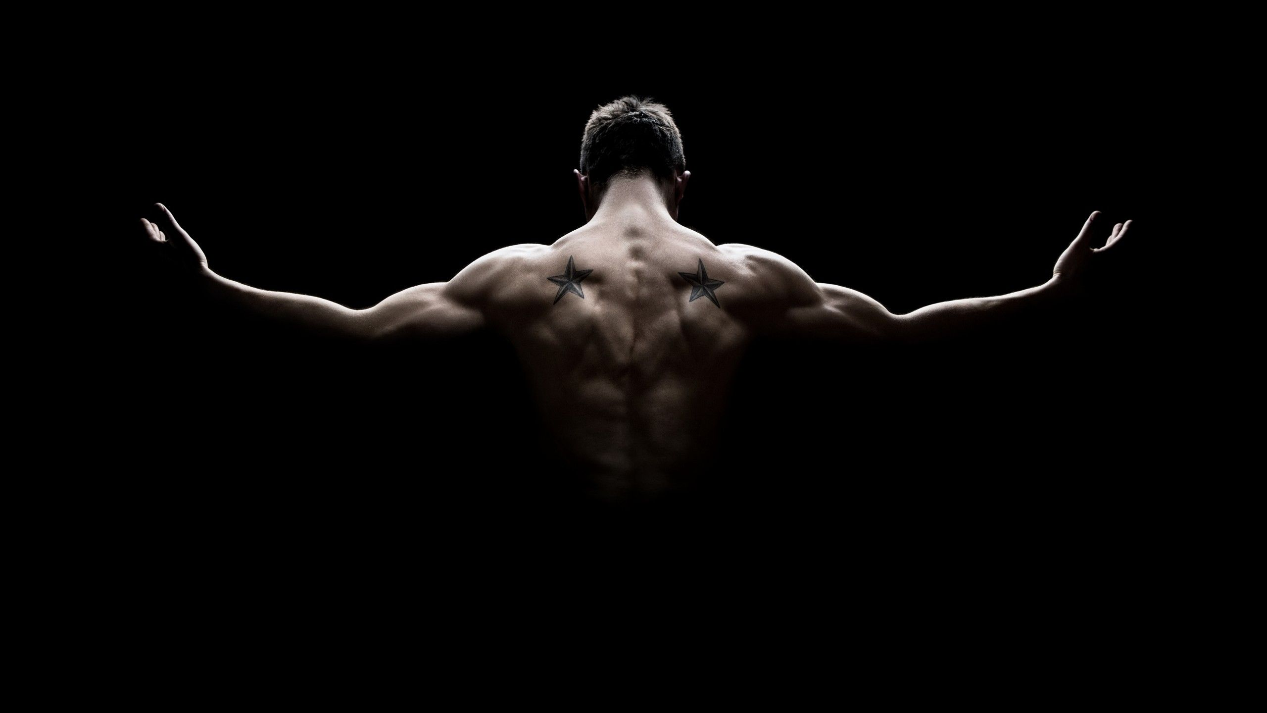 2560x1440 Wallpaper Bodybuilder, Muscles, 5K, Lifestyle, #6352