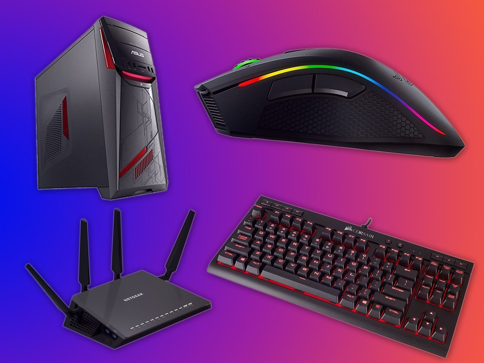 1600x1200 Save up to 30 percent on gaming accessories from MSI, Razer and more ...