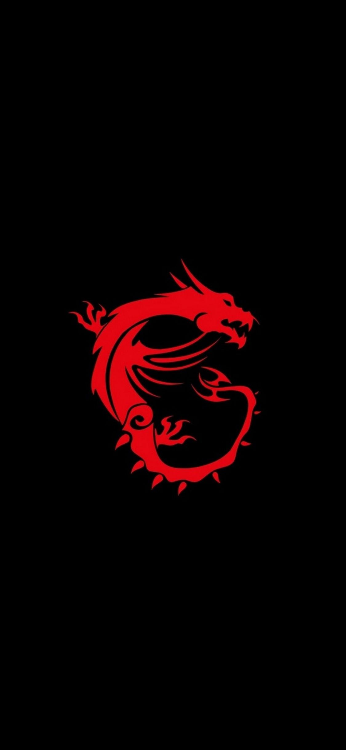 1125x2436 1125x2436 Msi Dragon Logo Iphone XS,Iphone 10,Iphone X HD 4k ...