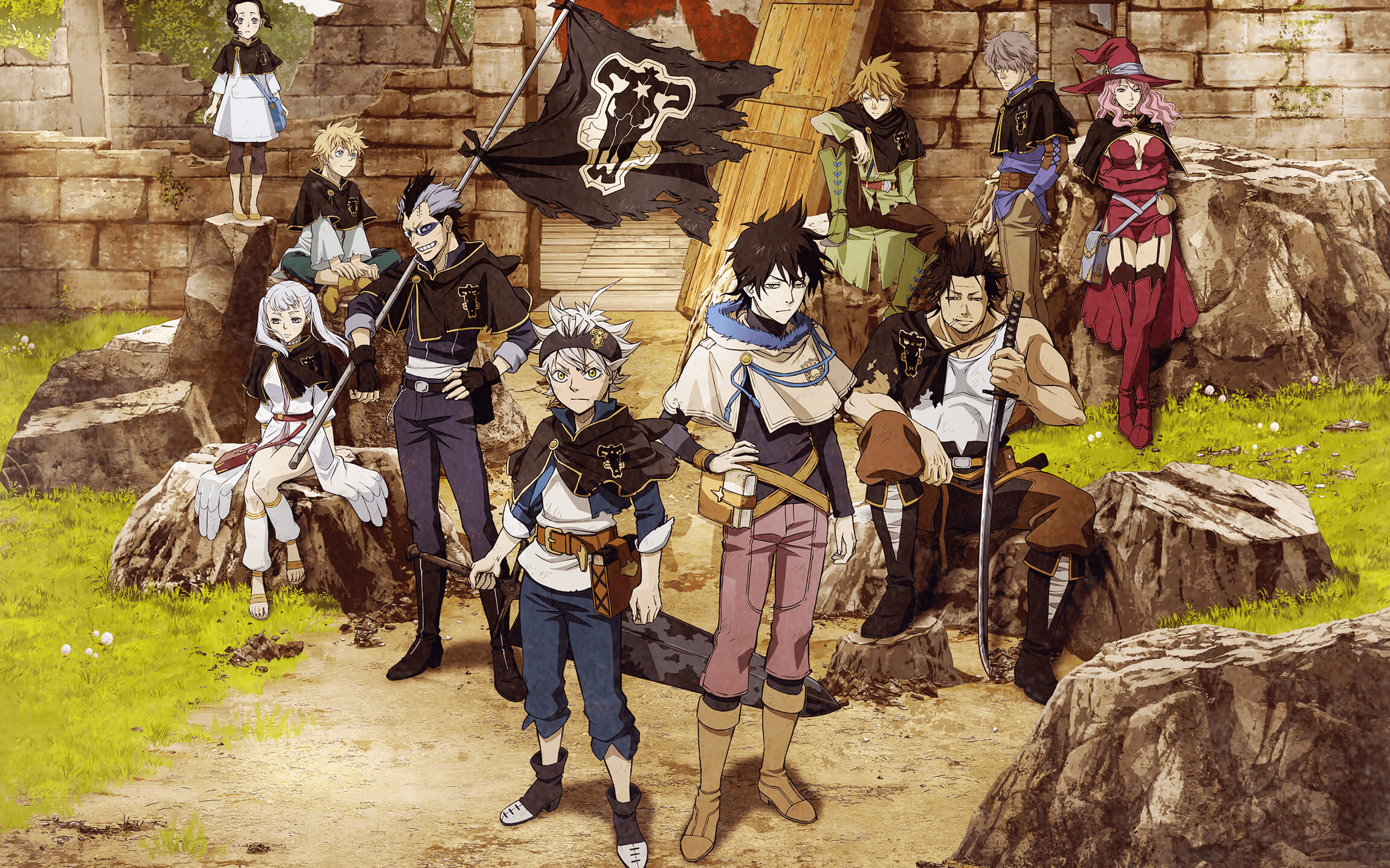 2300x1437 45 Black Clover HD Wallpapers   Background Images - Wallpaper Abyss
