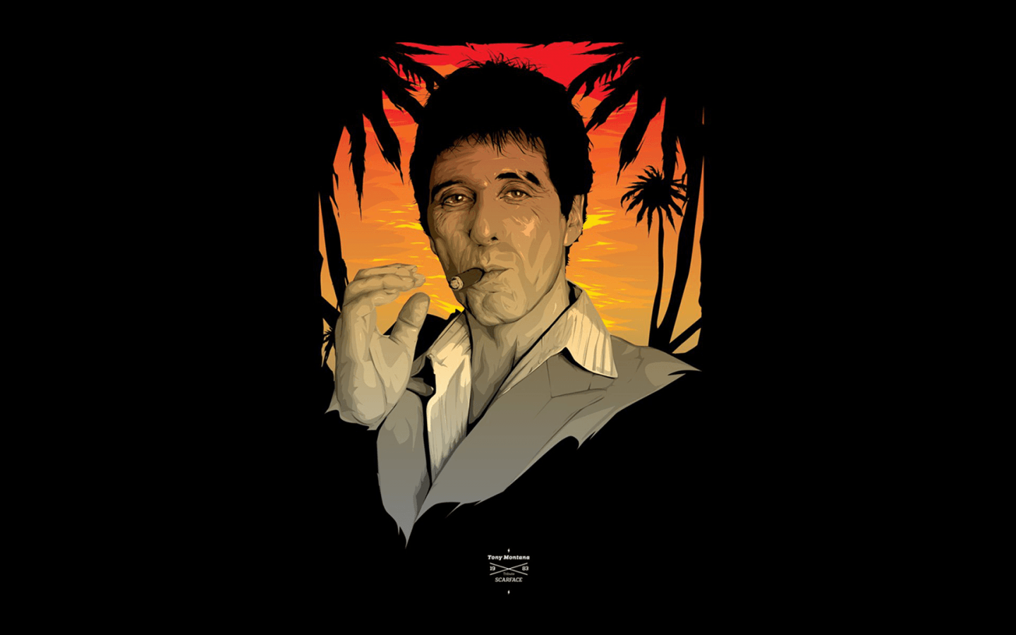 1440x900 Download 1440x900 Scarface, Tony Montana Wallpapers for MacBook Pro ...