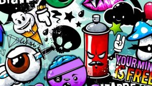 Cartoon Graffiti Wallpapers – Top Free Cartoon Graffiti Backgrounds